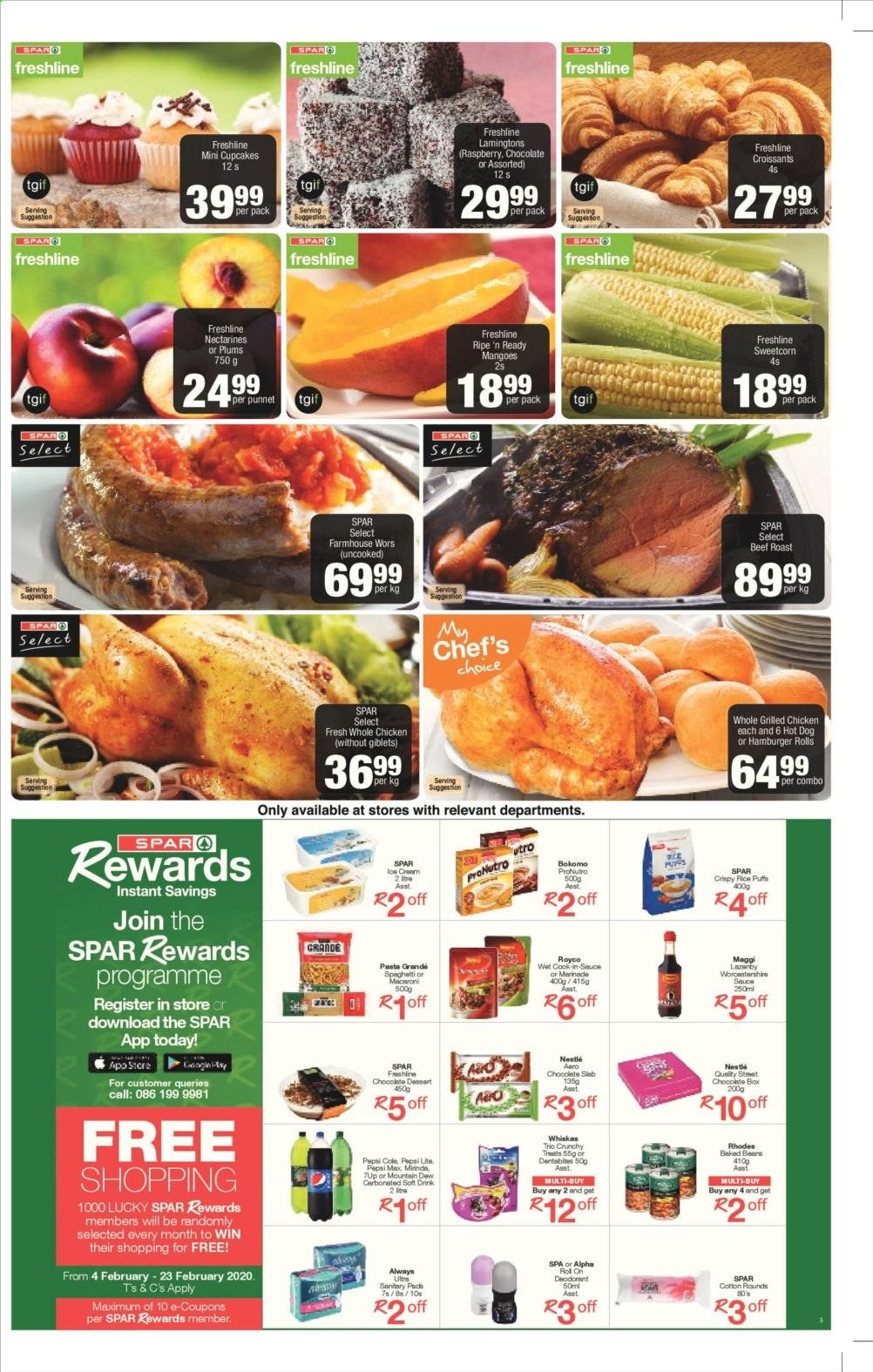 SPAR catalogue  - 02.11.2020 - 02.23.2020. Page 3.