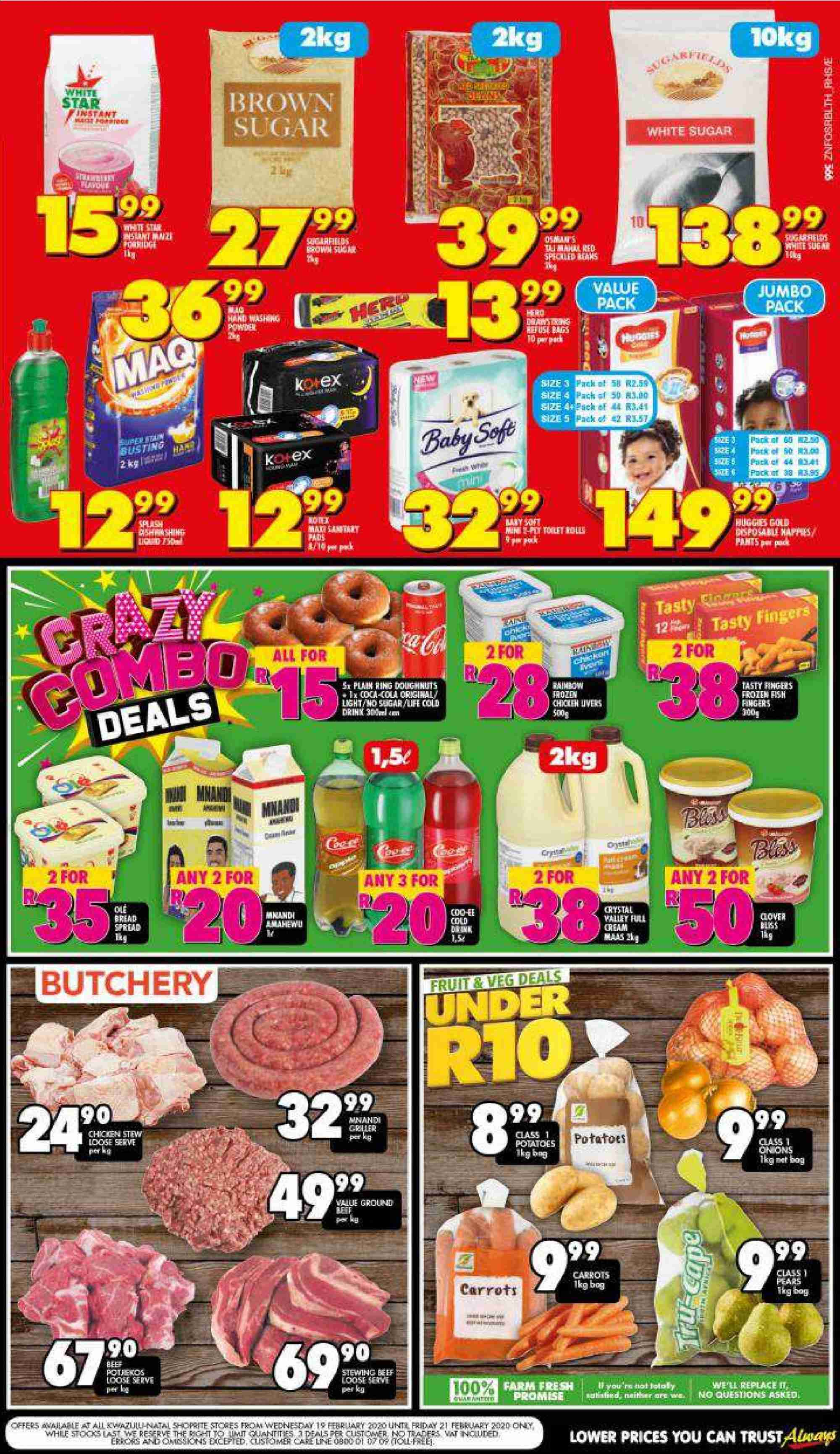 Shoprite catalogue  - 02.19.2020 - 02.21.2020. Page 2.
