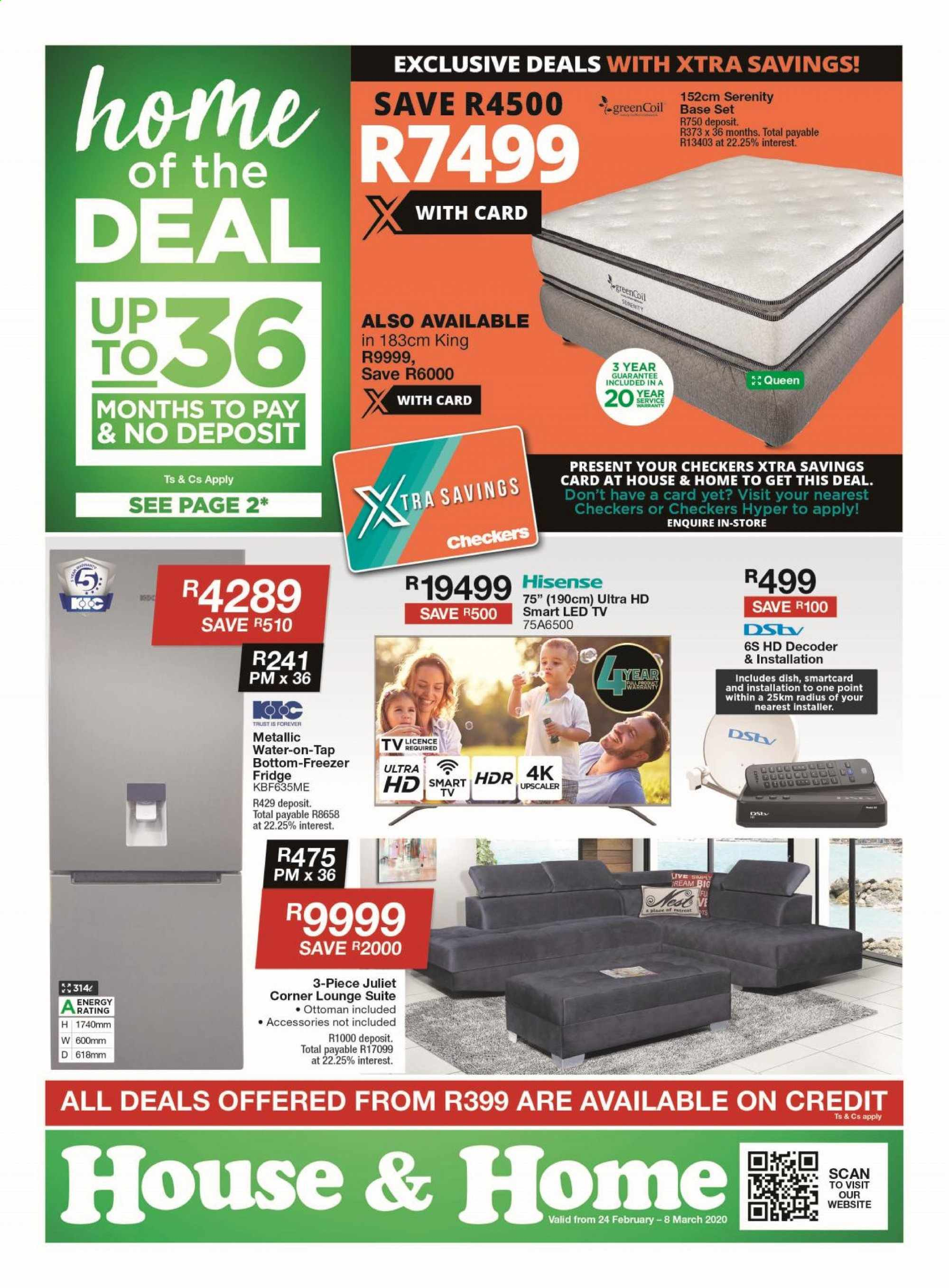 House & Home catalogue  - 02.24.2020 - 03.08.2020. Page 1.