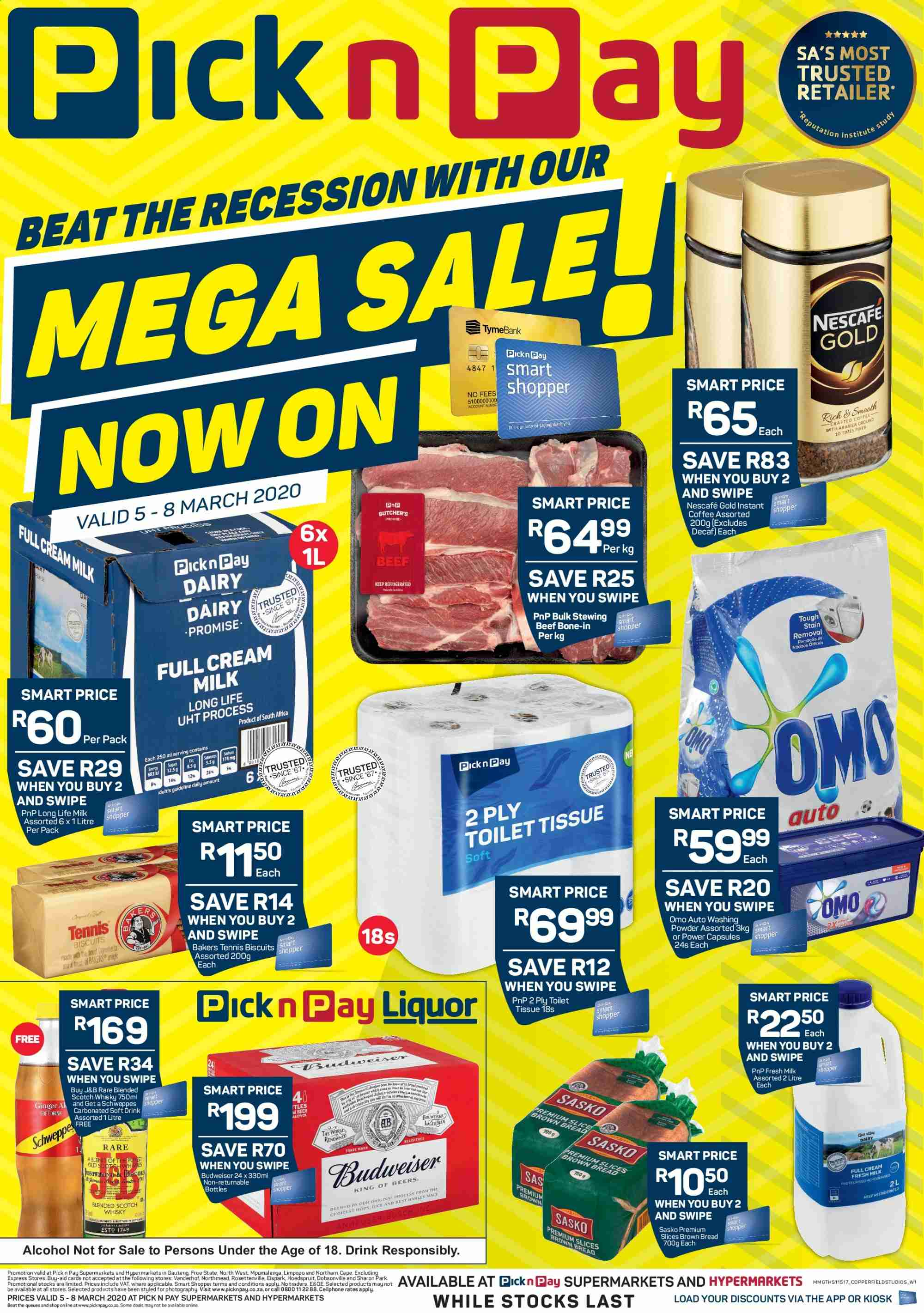 Pick n Pay catalogue  - 03.05.2020 - 03.08.2020. Page 1.