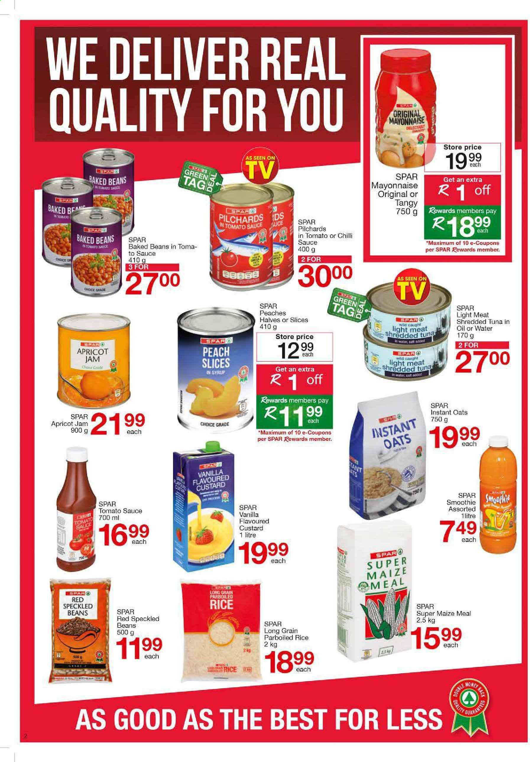 SPAR catalogue  - 03.09.2020 - 03.22.2020. Page 2.