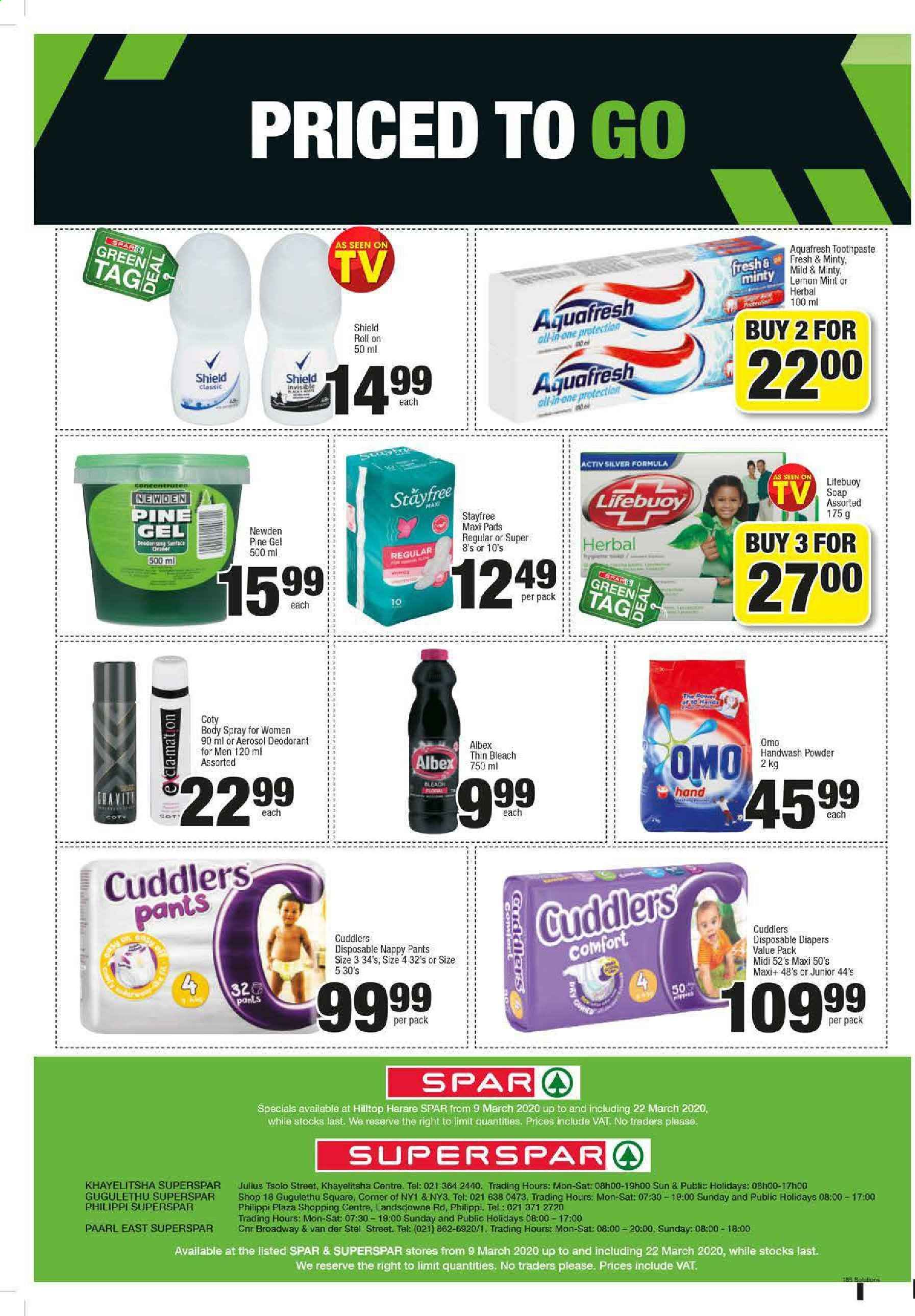 SPAR catalogue  - 03.09.2020 - 03.22.2020. Page 8.