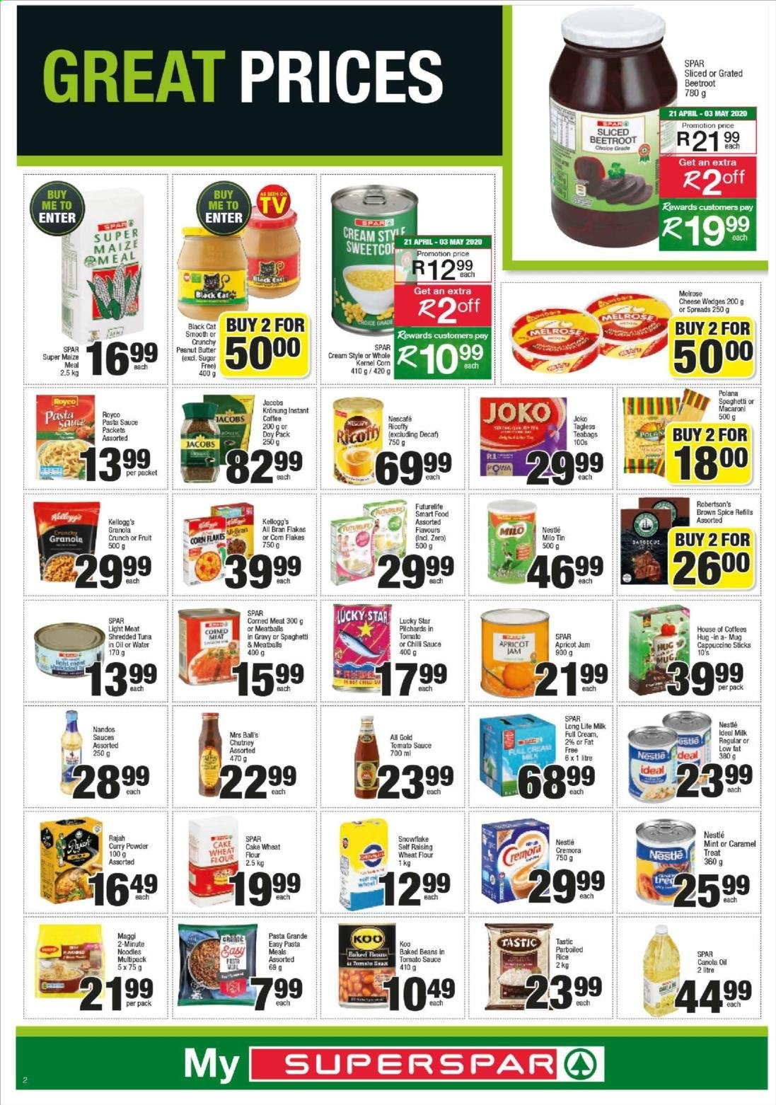 SPAR catalogue  - 04.20.2020 - 04.26.2020. Page 2.
