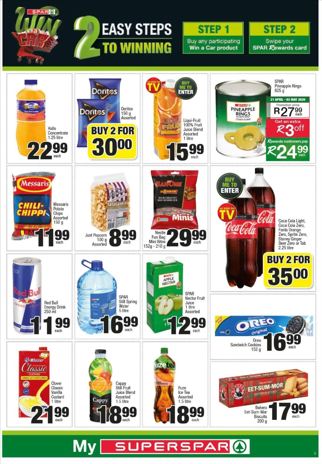 SPAR catalogue  - 04.20.2020 - 04.26.2020. Page 3.