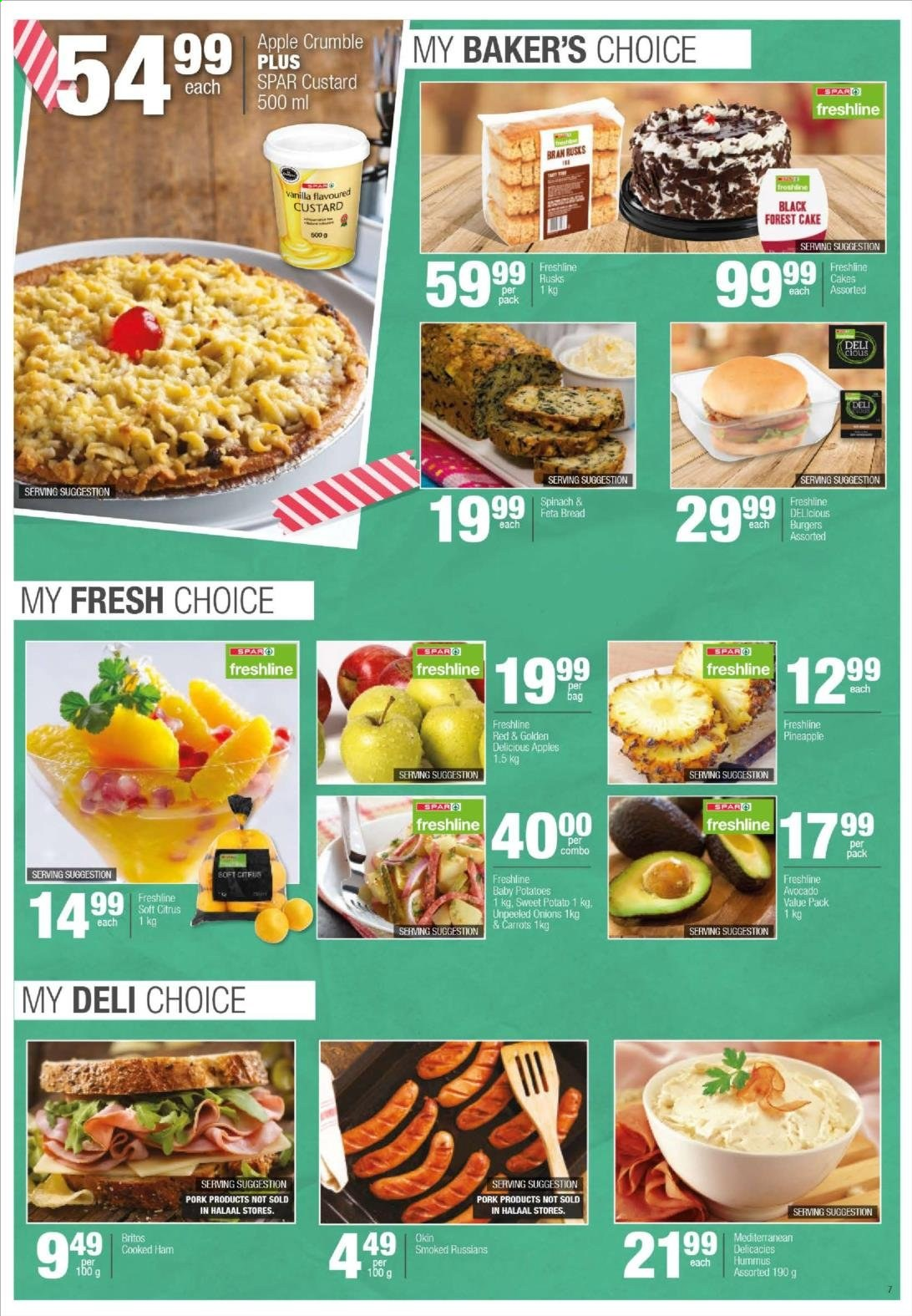 SPAR catalogue  - 04.20.2020 - 04.26.2020. Page 7.