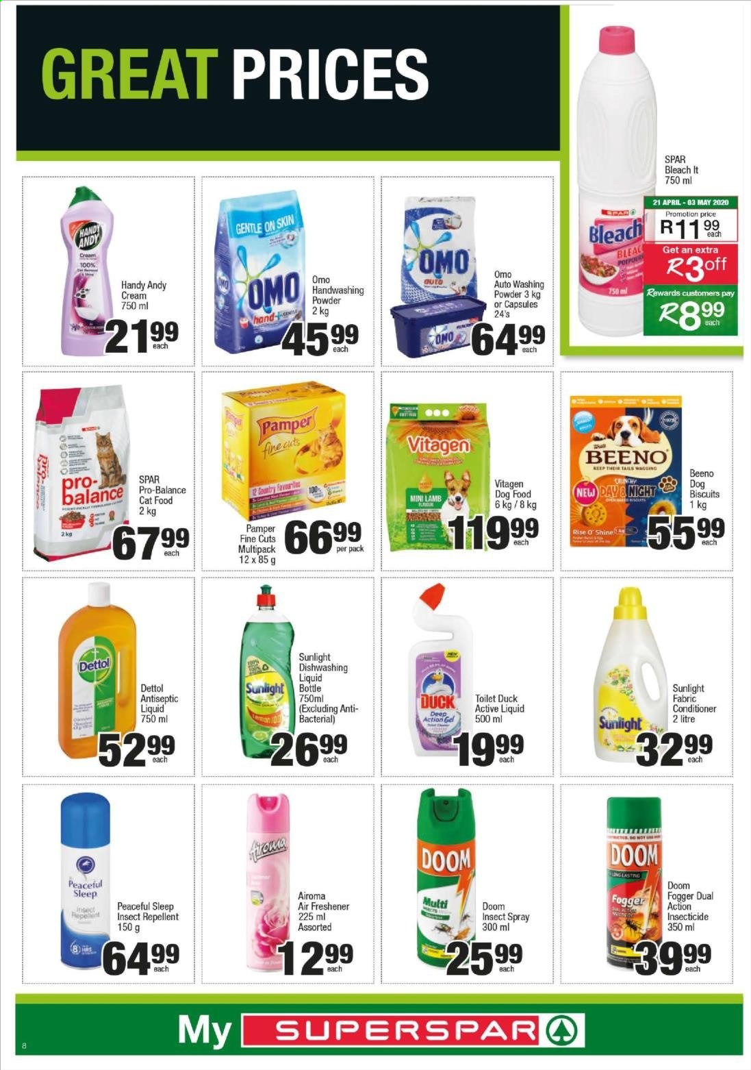 SPAR catalogue  - 04.20.2020 - 04.26.2020. Page 8.