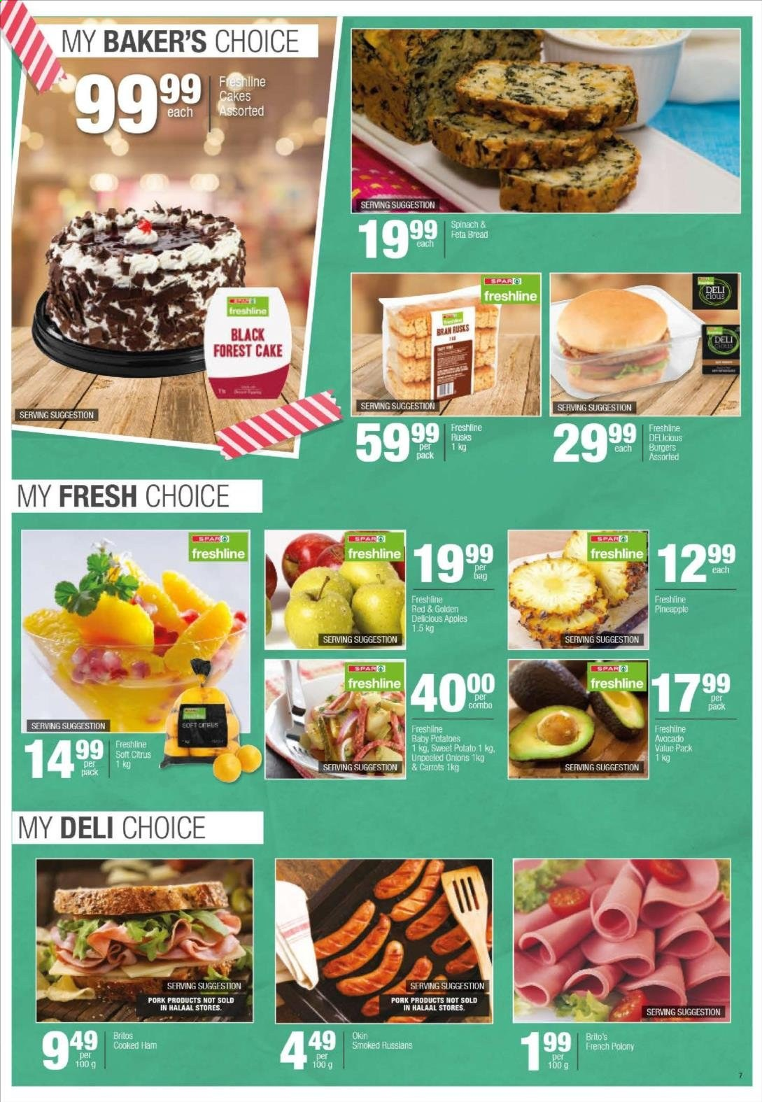 SPAR catalogue  - 04.20.2020 - 04.26.2020. Page 19.