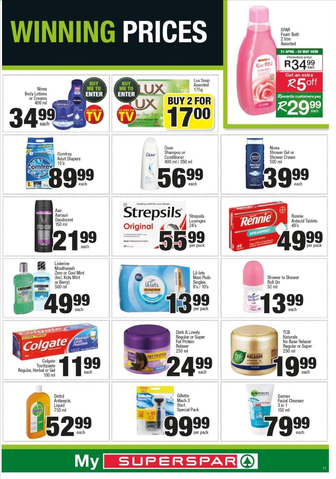 SPAR catalogue  - 04.20.2020 - 04.26.2020. Page 23.