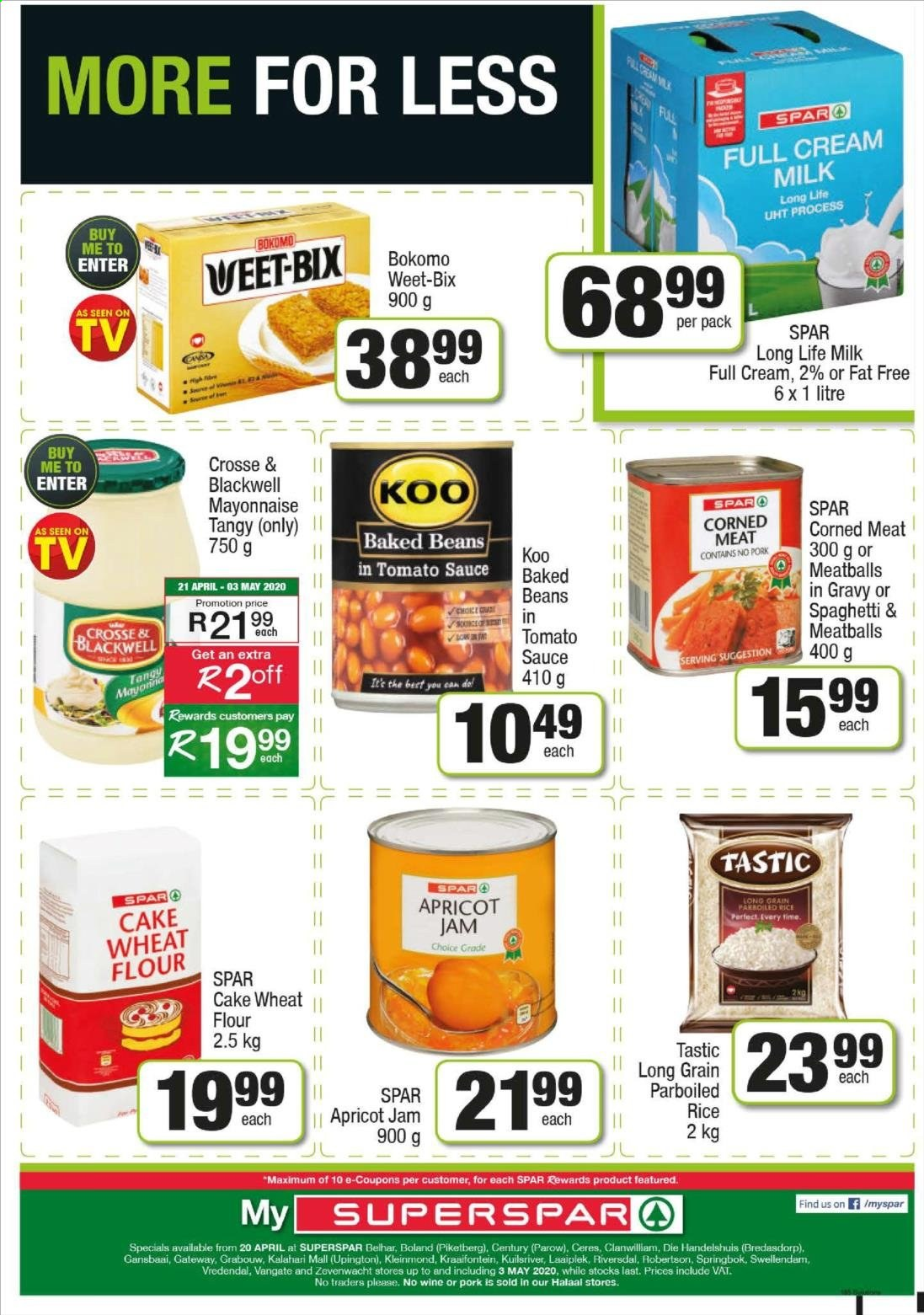 SPAR catalogue  - 04.20.2020 - 04.26.2020. Page 24.
