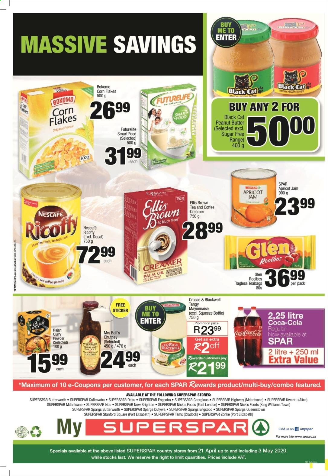 SPAR catalogue  - 04.21.2020 - 05.03.2020. Page 8.
