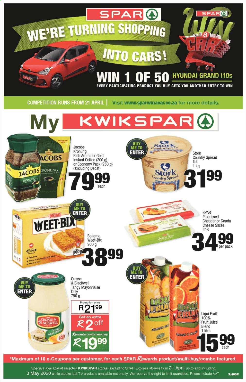 SPAR catalogue  - 04.21.2020 - 04.26.2020. Page 1.