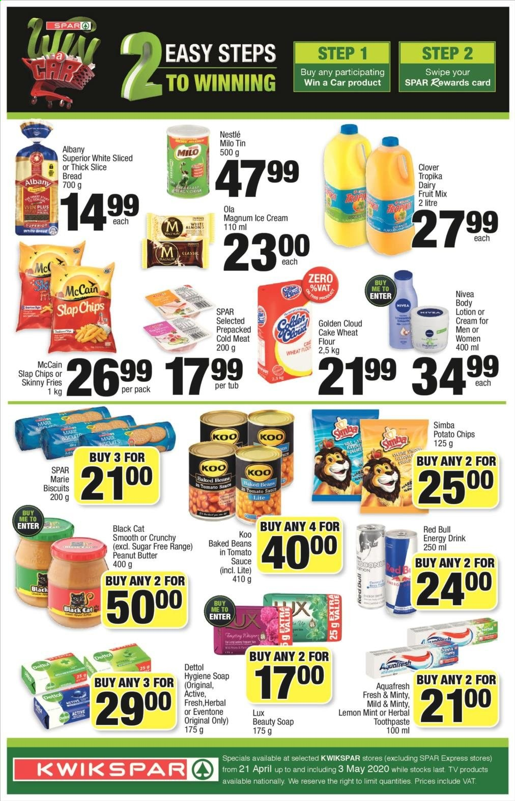 SPAR catalogue  - 04.21.2020 - 04.26.2020. Page 2.
