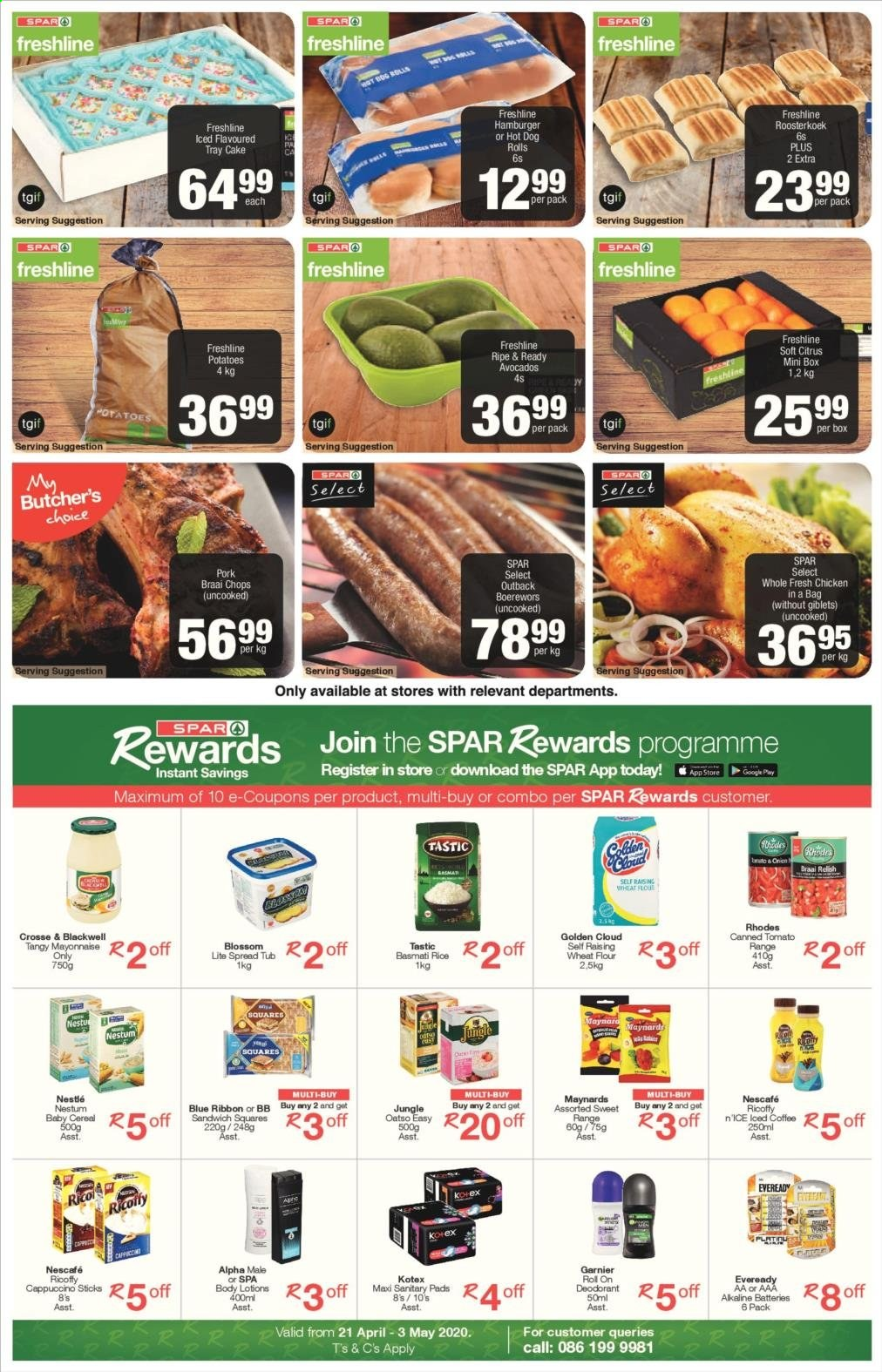 SPAR catalogue  - 04.21.2020 - 04.26.2020. Page 3.