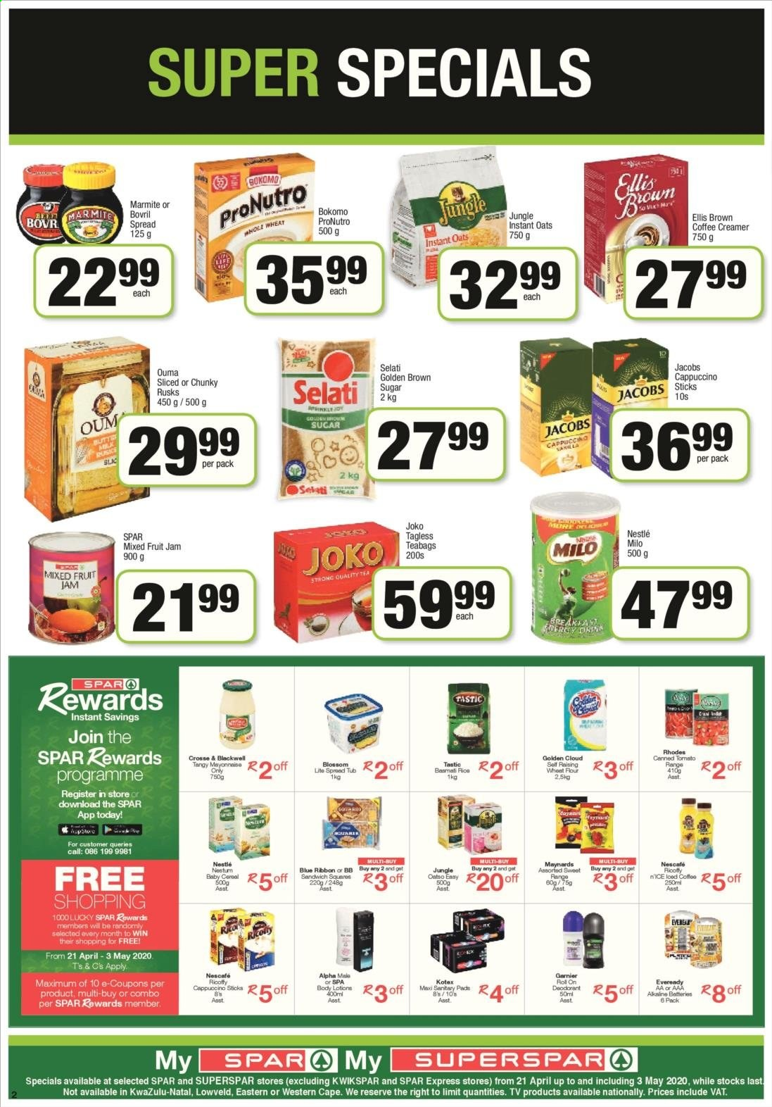 SPAR catalogue  - 04.21.2020 - 04.26.2020. Page 6.