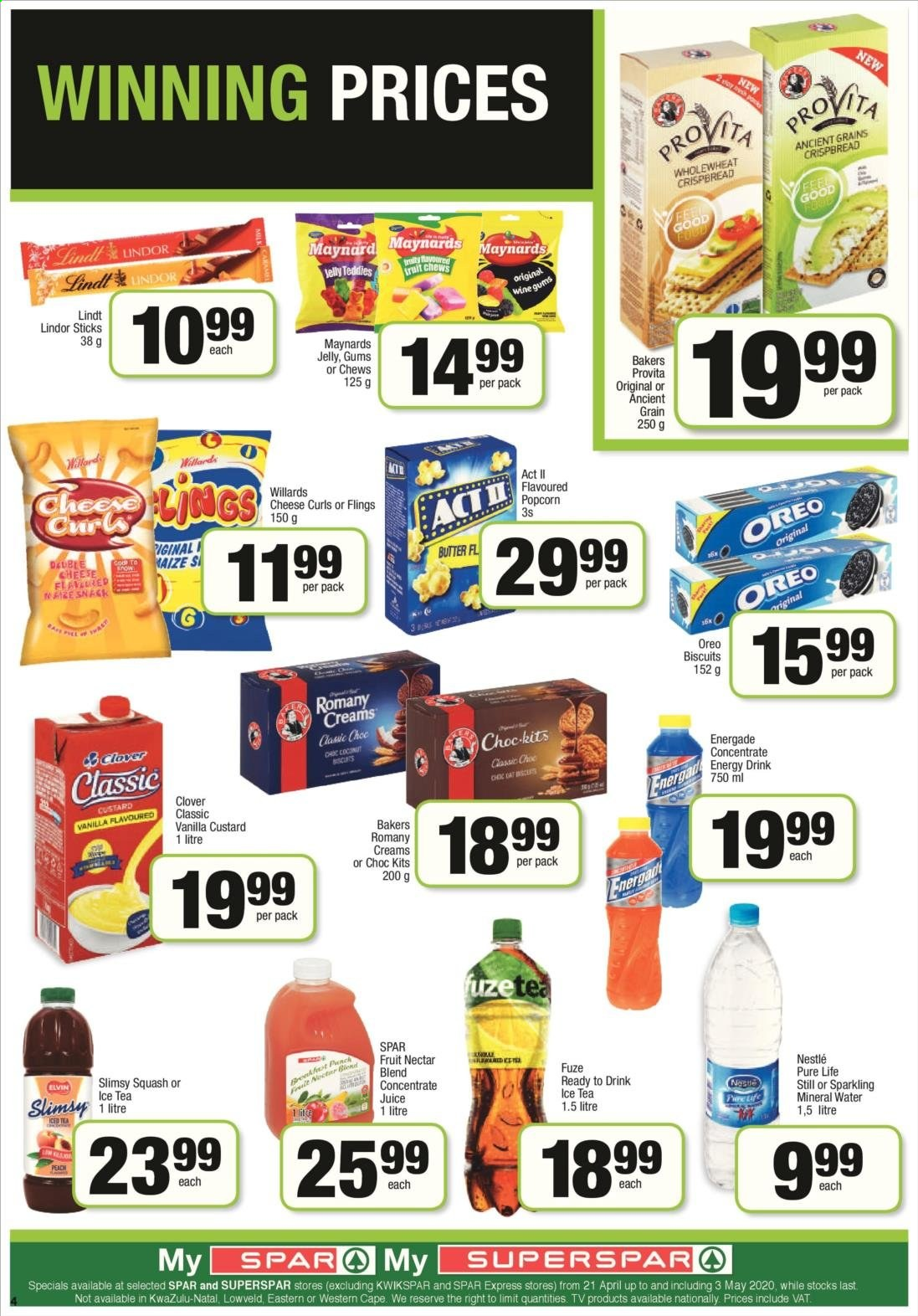 SPAR catalogue  - 04.21.2020 - 04.26.2020. Page 8.