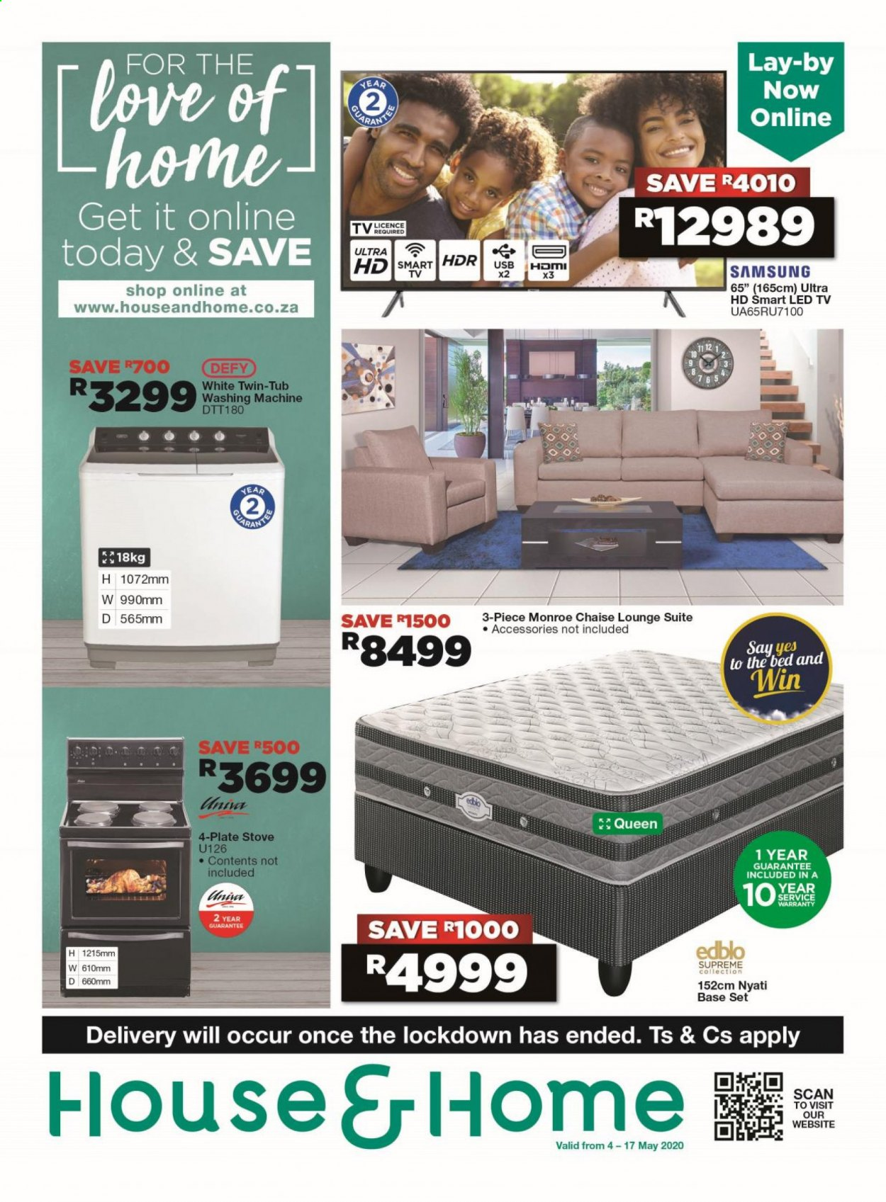 House & Home catalogue  - 05.04.2020 - 05.17.2020. Page 1.