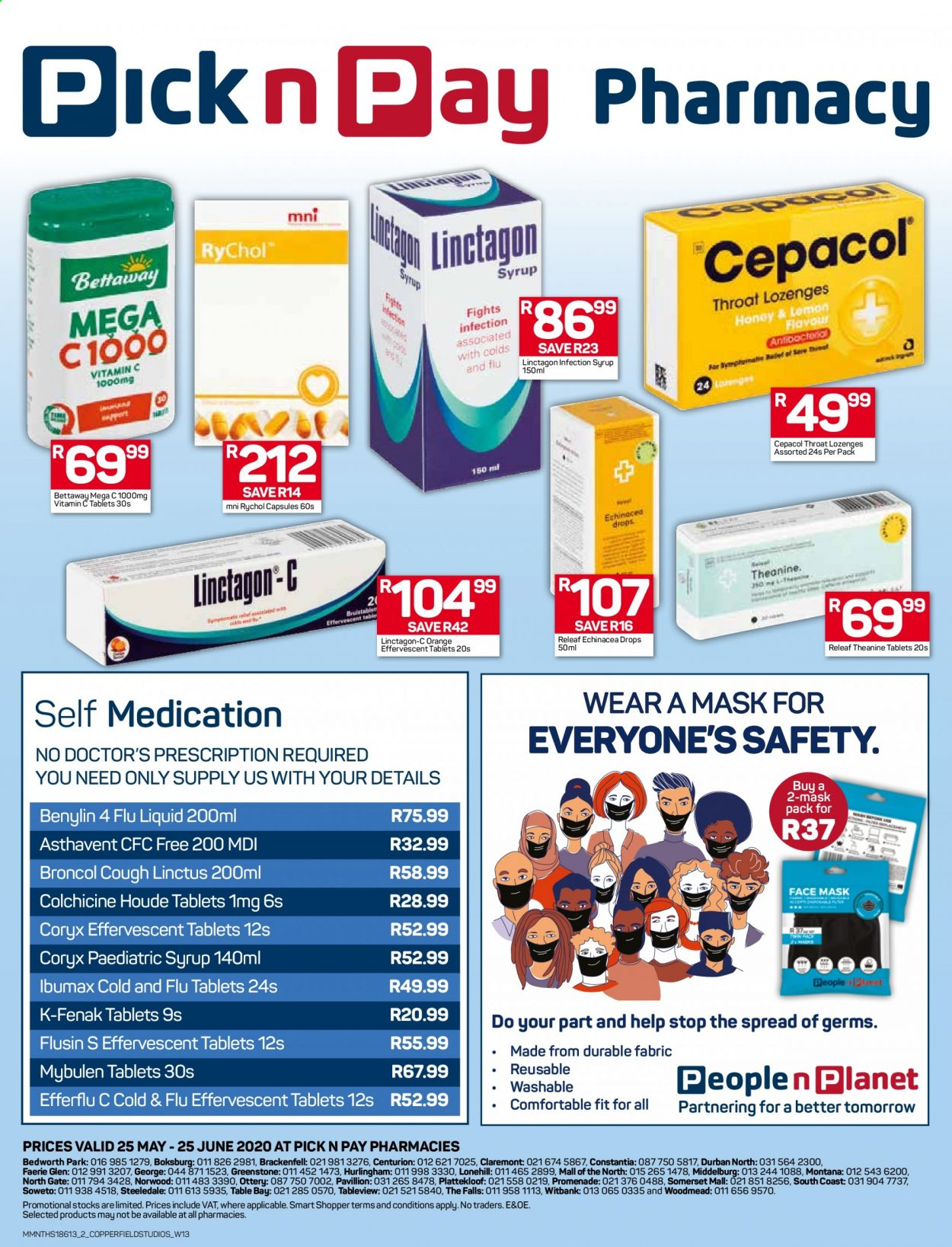Pick n Pay catalogue  - 05.25.2020 - 06.25.2020. Page 2.