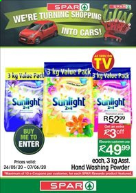 SPAR catalogue . Page 4.