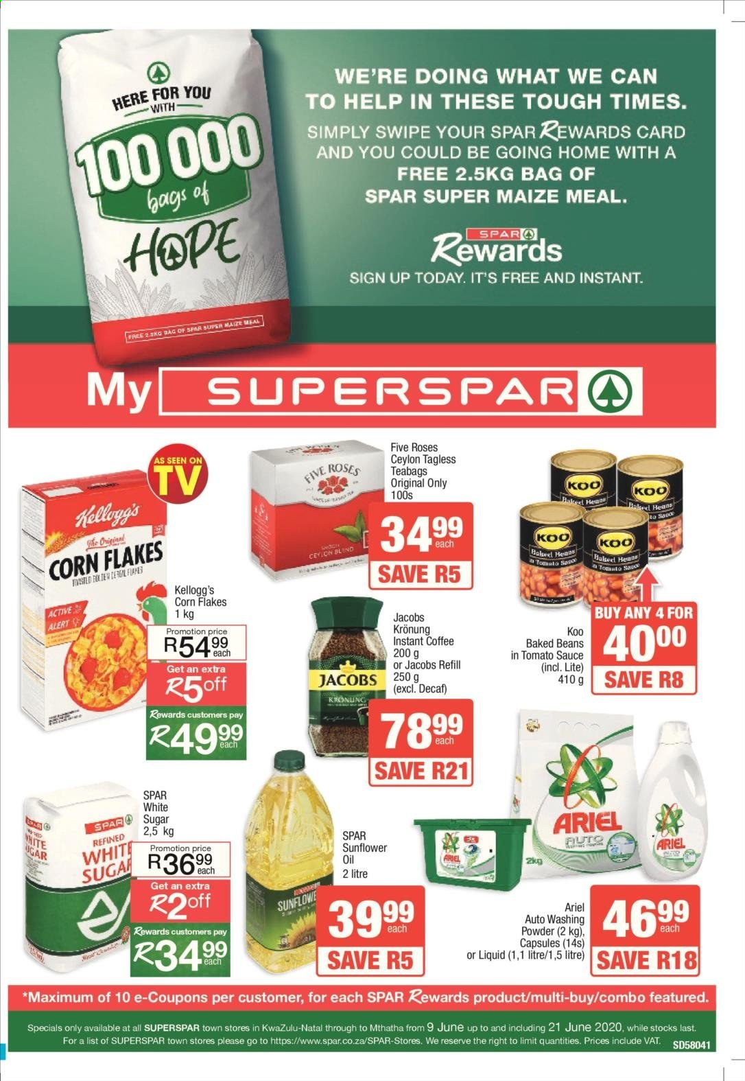 SPAR catalogue . Page 5.