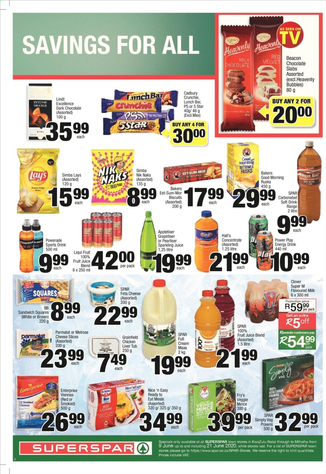 SPAR catalogue . Page 8.