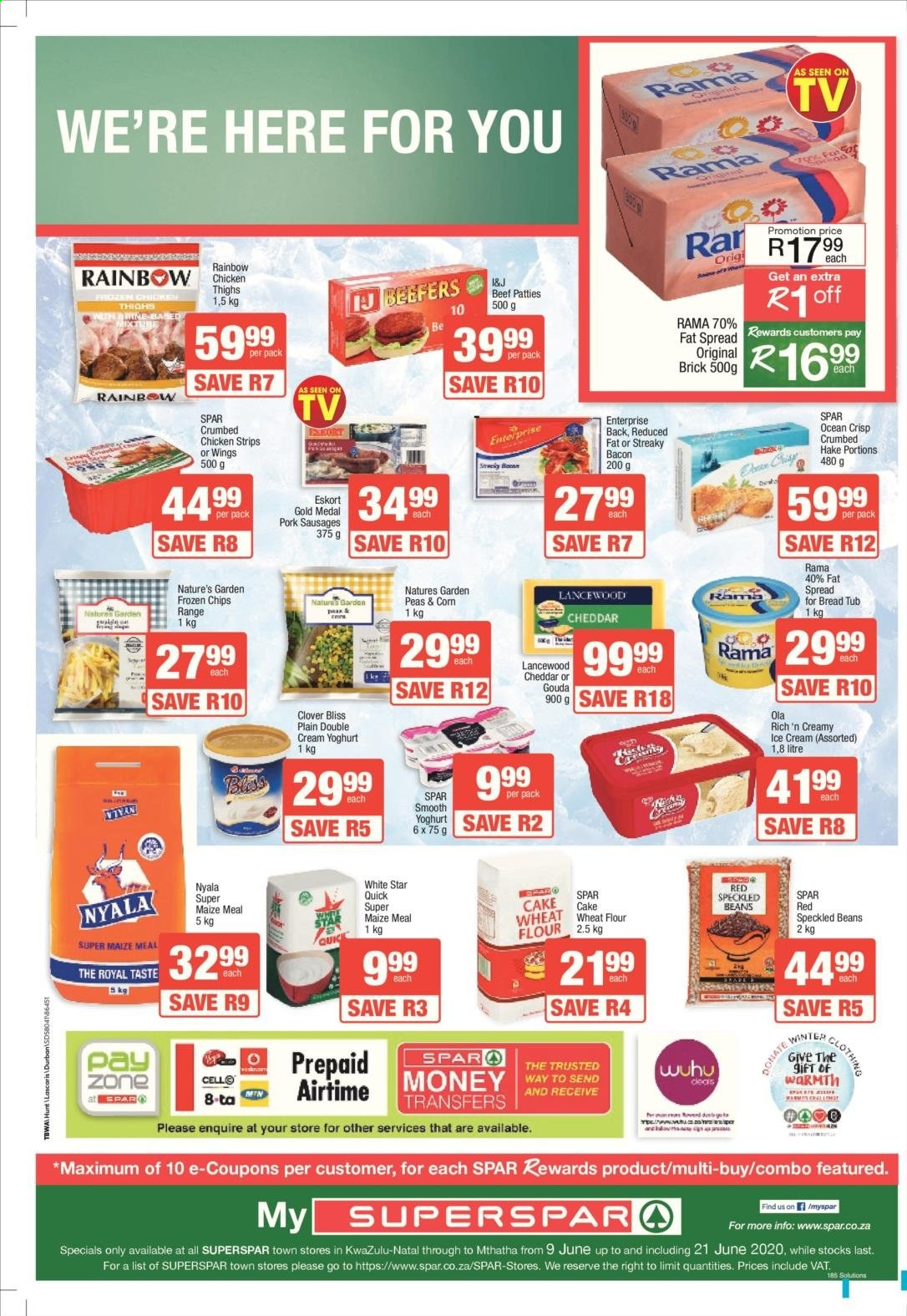 SPAR catalogue . Page 11.