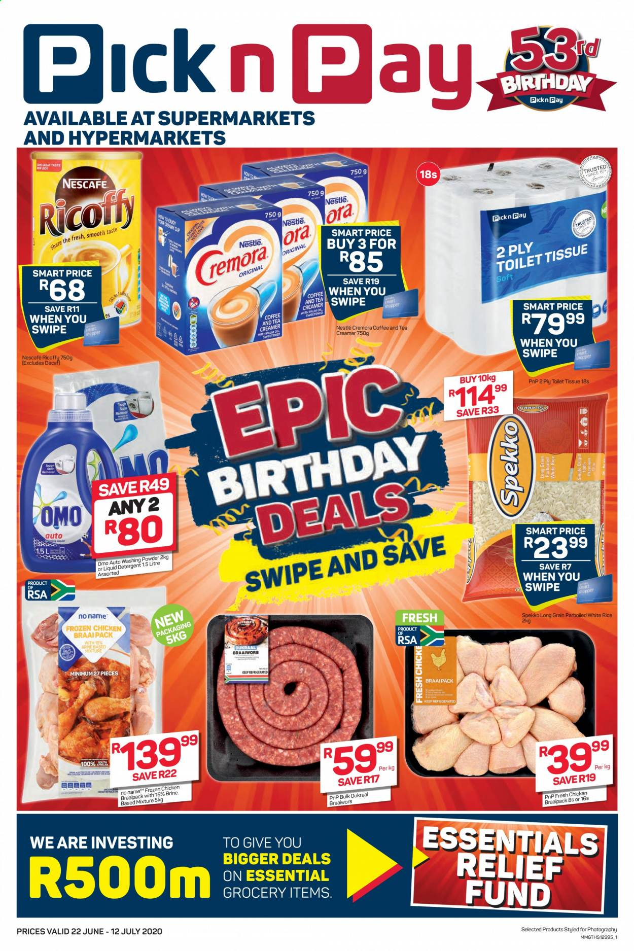 Pick n Pay catalogue  - 06.22.2020 - 07.12.2020. Page 1.