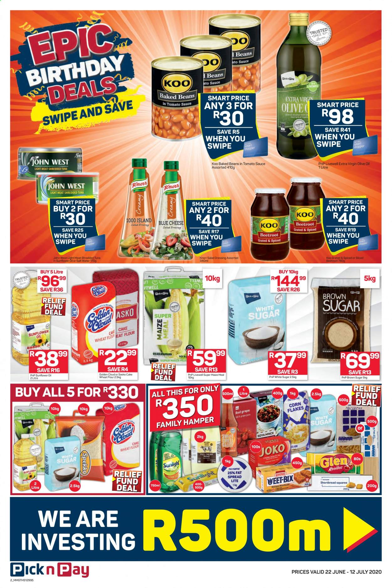 Pick n Pay catalogue  - 06.22.2020 - 07.12.2020. Page 2.