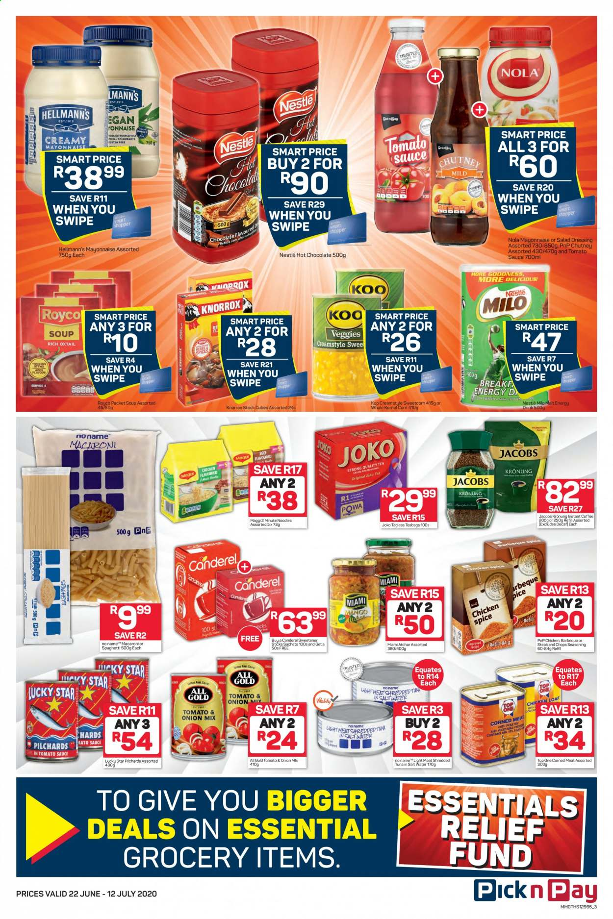 Pick n Pay catalogue  - 06.22.2020 - 07.12.2020. Page 3.