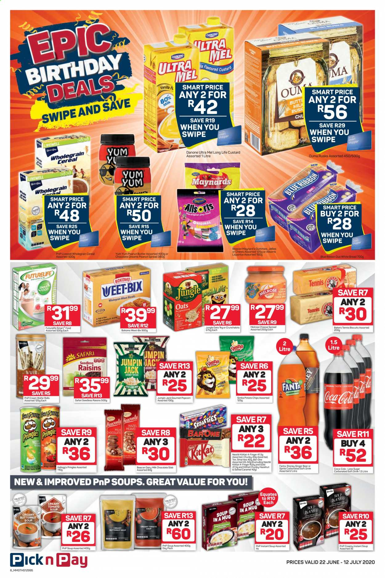 Pick n Pay catalogue  - 06.22.2020 - 07.12.2020. Page 6.