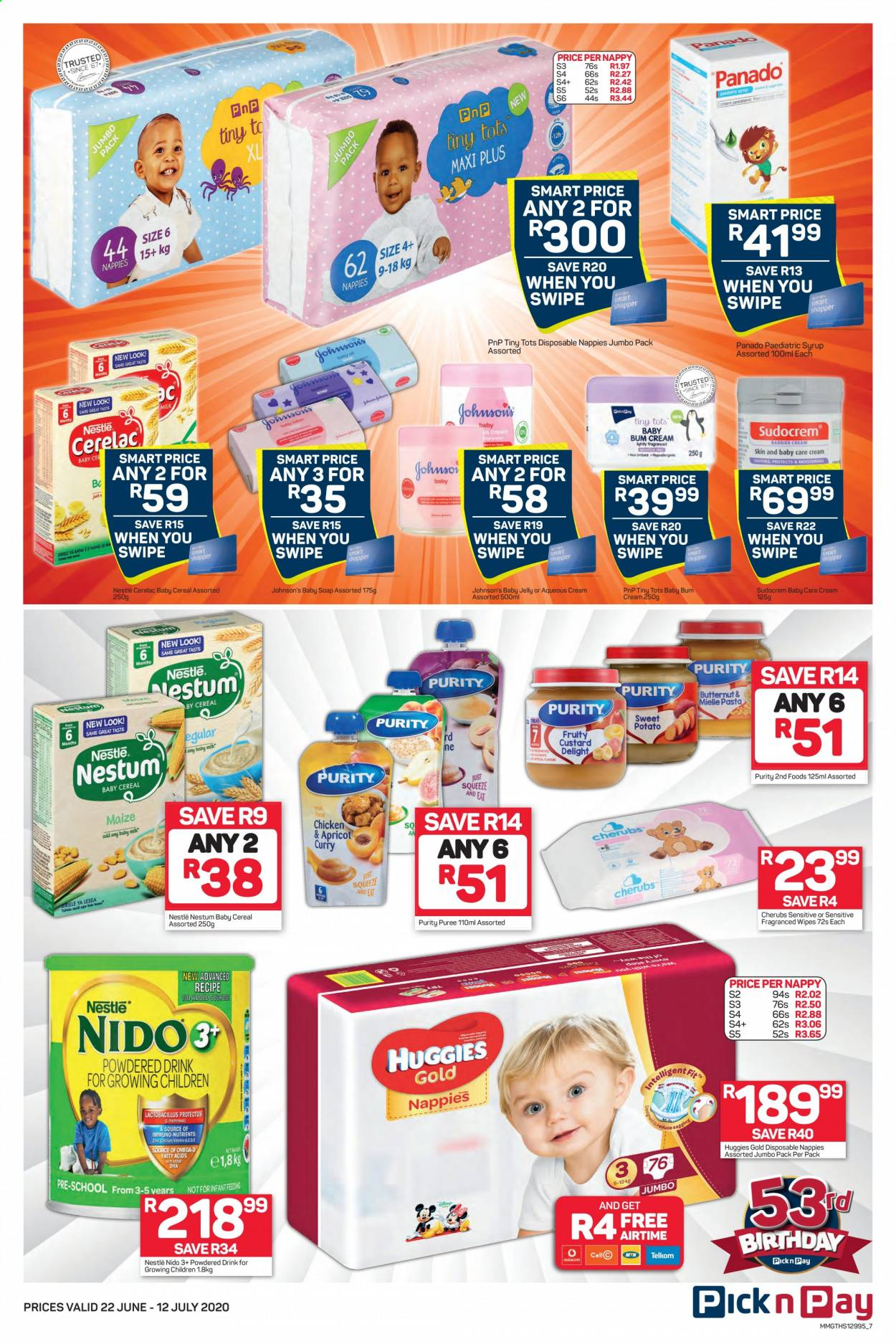 Pick n Pay catalogue  - 06.22.2020 - 07.12.2020. Page 7.