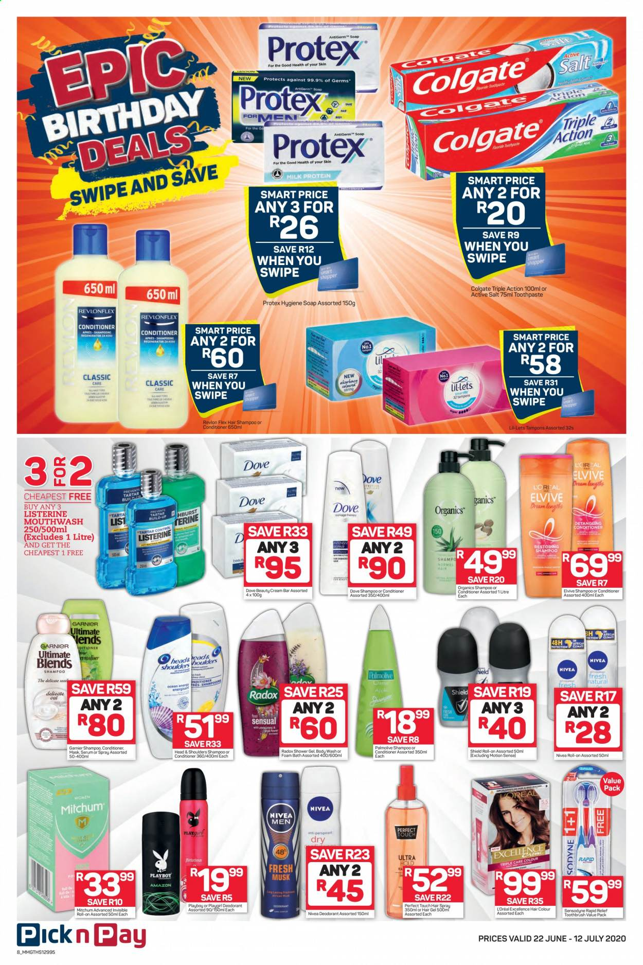 Pick n Pay catalogue  - 06.22.2020 - 07.12.2020. Page 8.