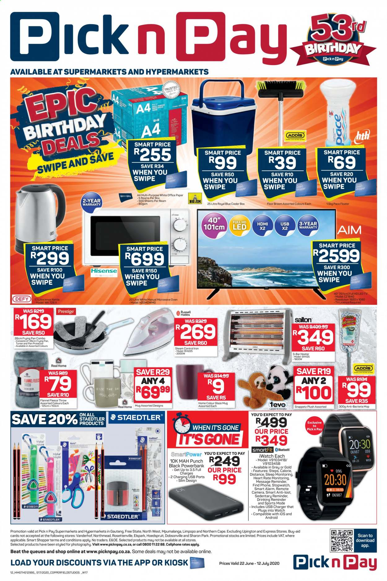 Pick n Pay catalogue  - 06.22.2020 - 07.12.2020. Page 12.