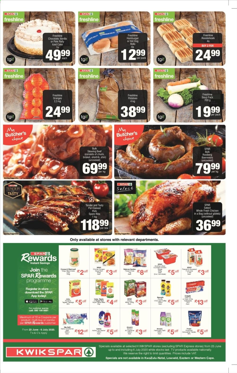 SPAR catalogue . Page 3.