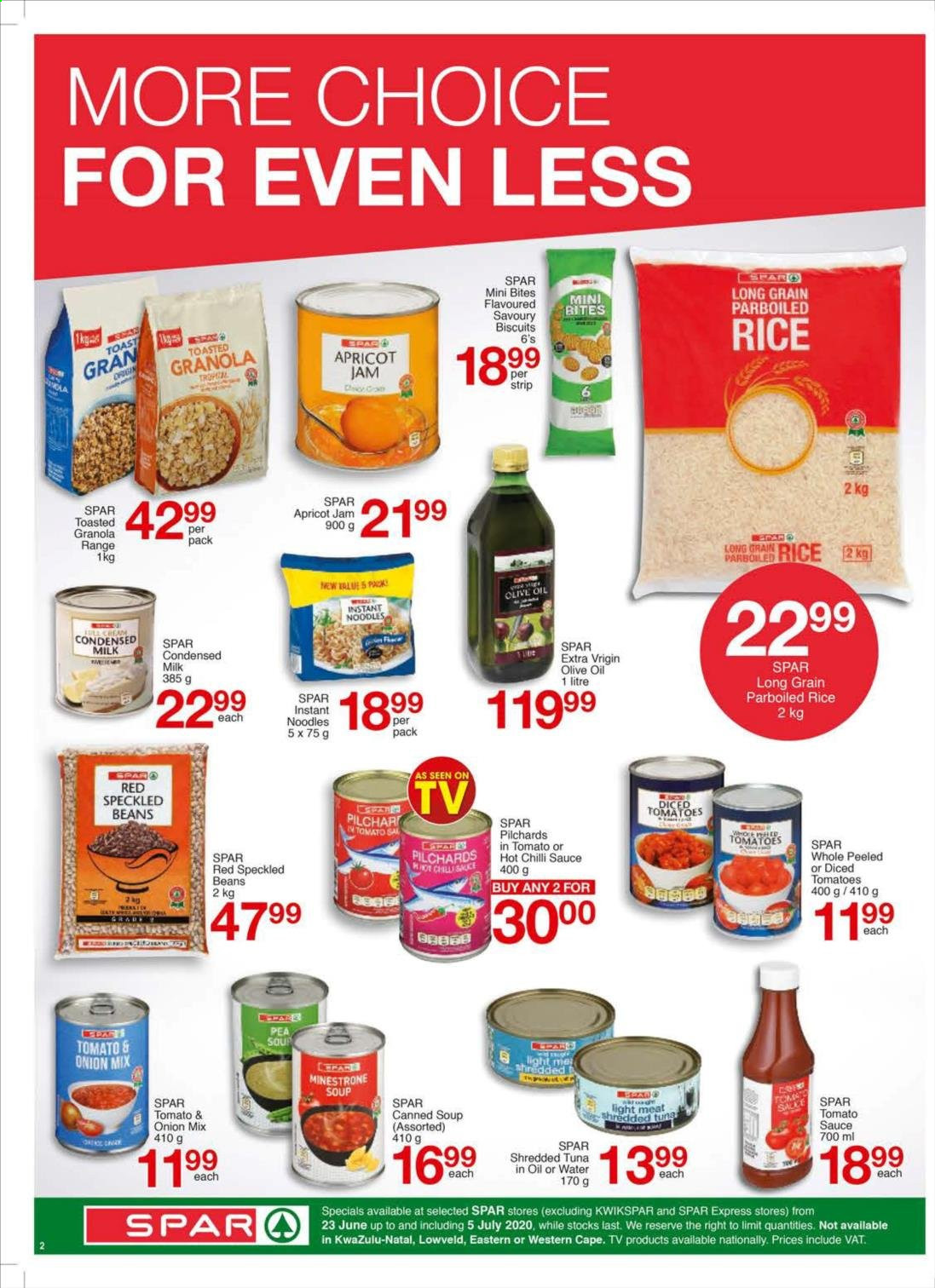 SPAR catalogue . Page 6.