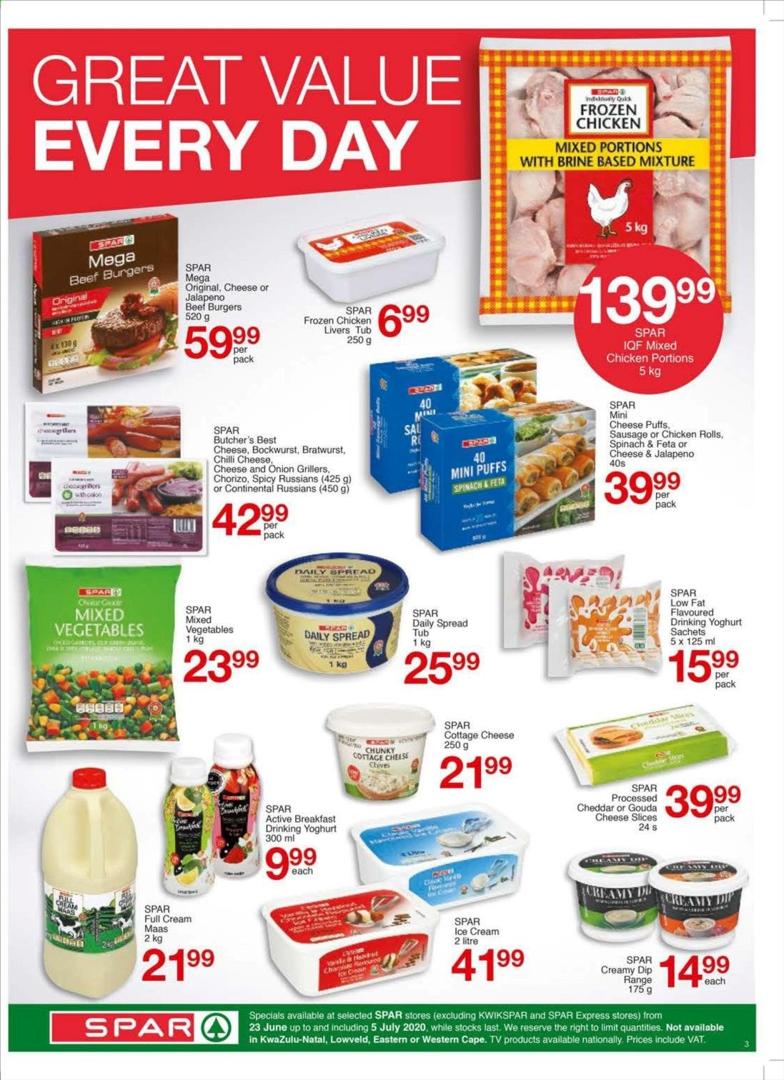 SPAR catalogue . Page 7.