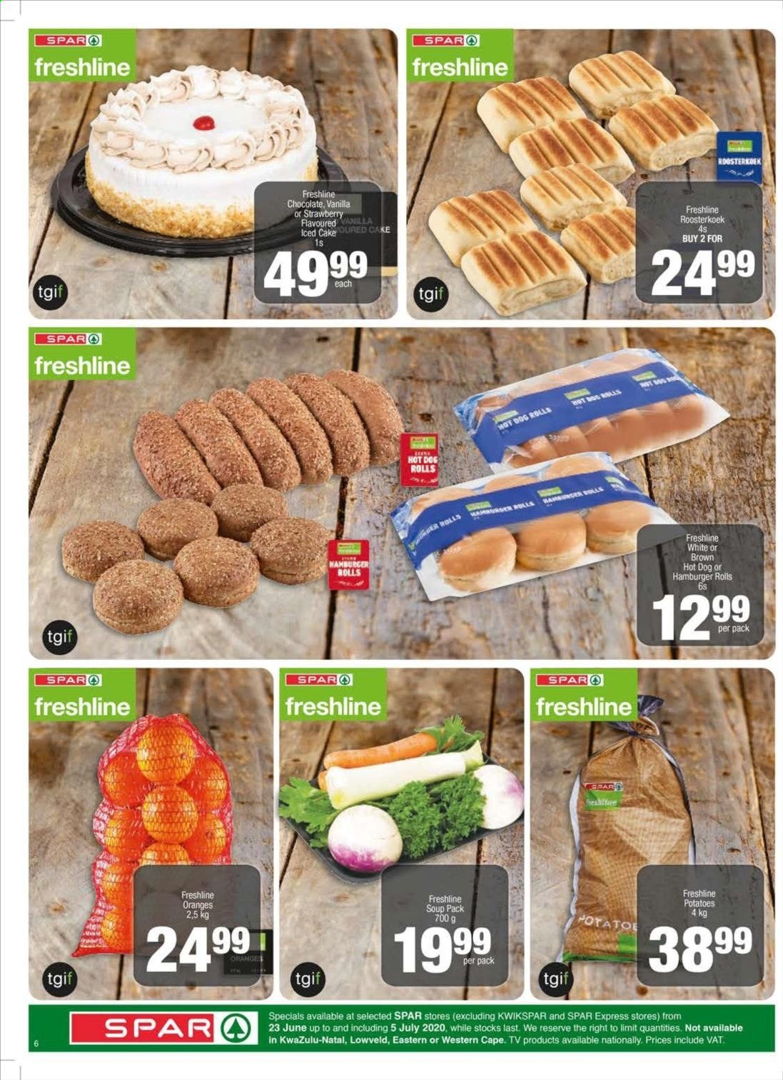 SPAR catalogue . Page 10.