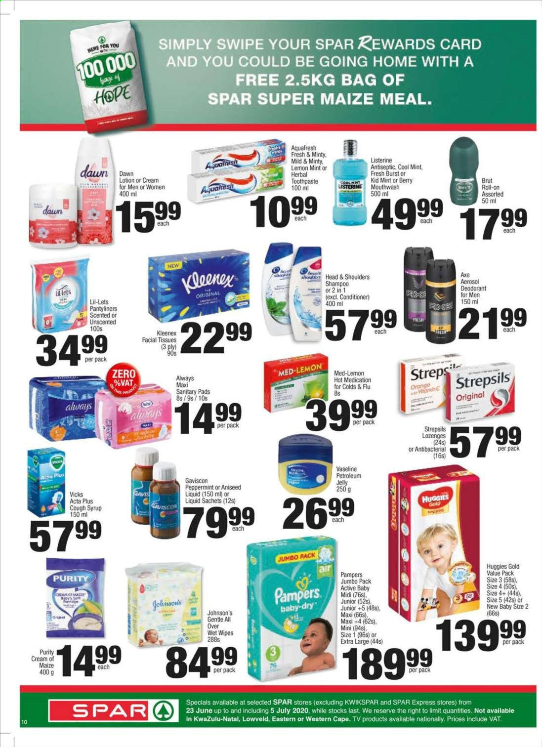 SPAR catalogue . Page 14.