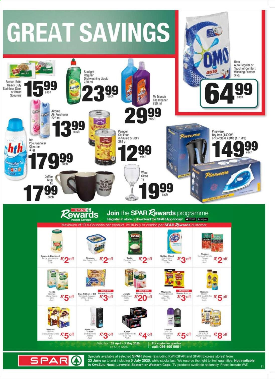 SPAR catalogue . Page 15.
