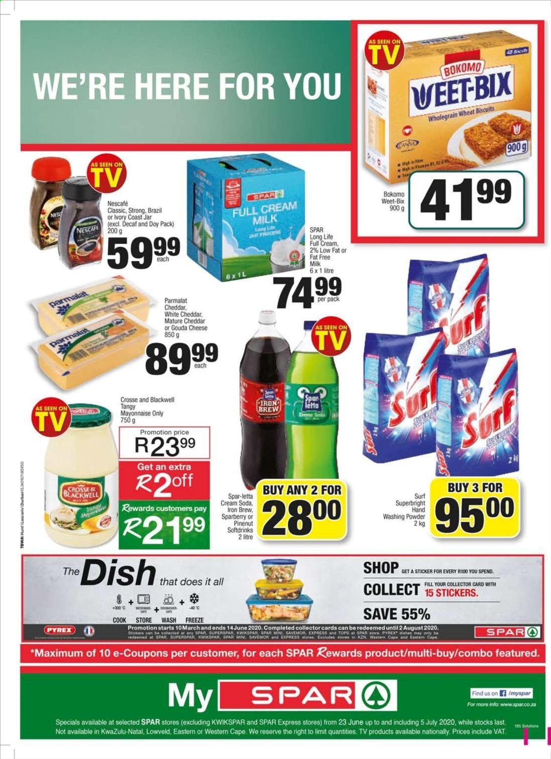 SPAR catalogue . Page 16.