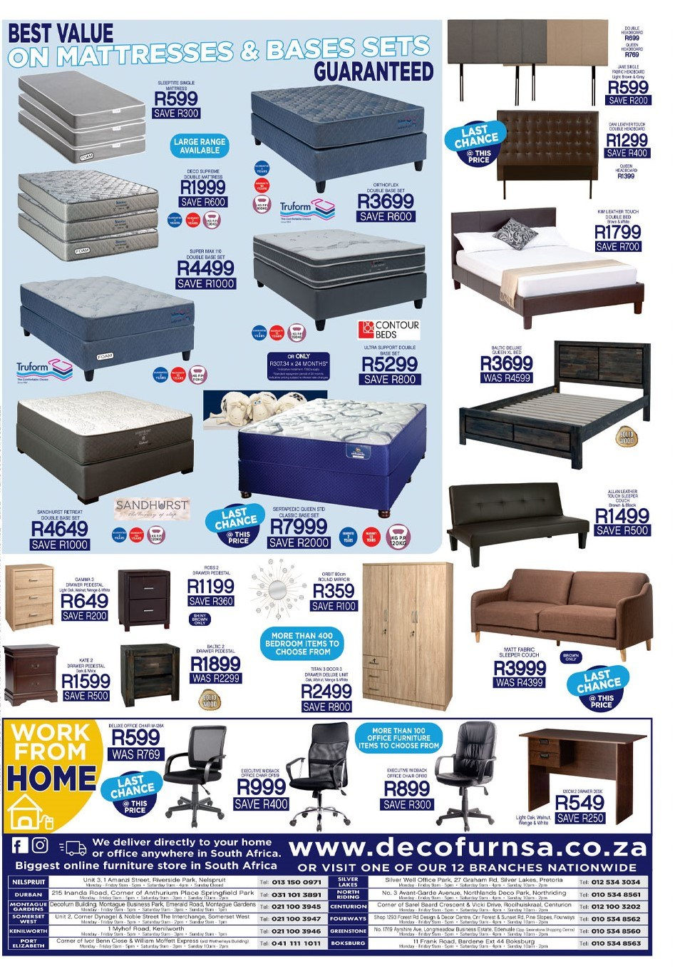 Decofurn Factory Shop catalogue . Page 4.