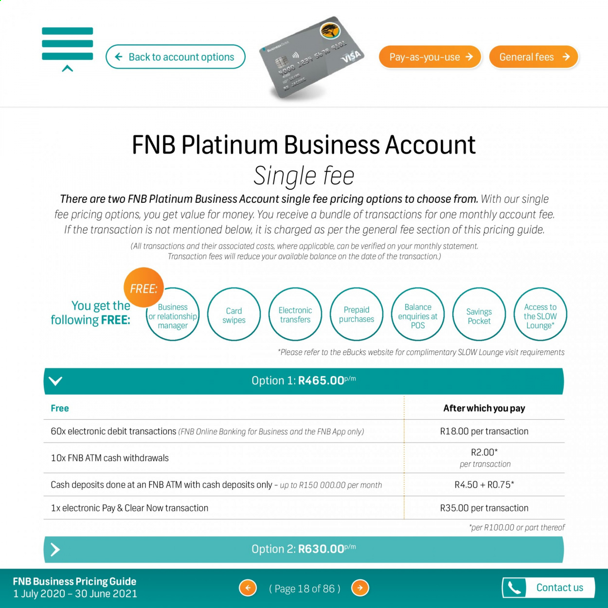FNB catalogue  - 07.01.2020 - 06.30.2021. Page 18.
