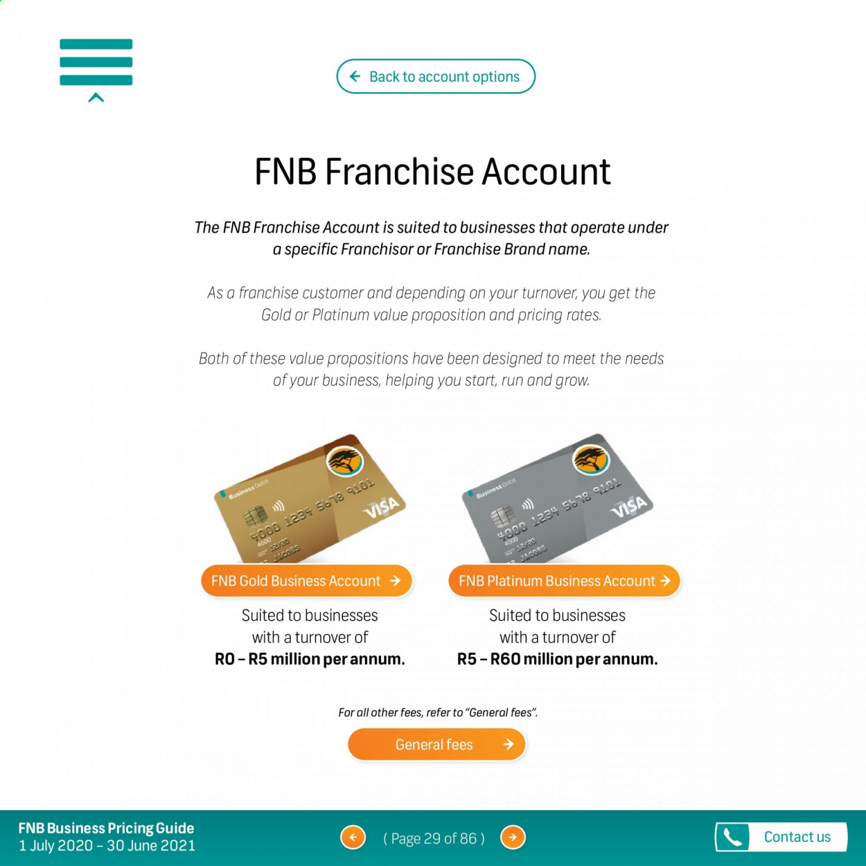 FNB catalogue  - 07.01.2020 - 06.30.2021. Page 29.