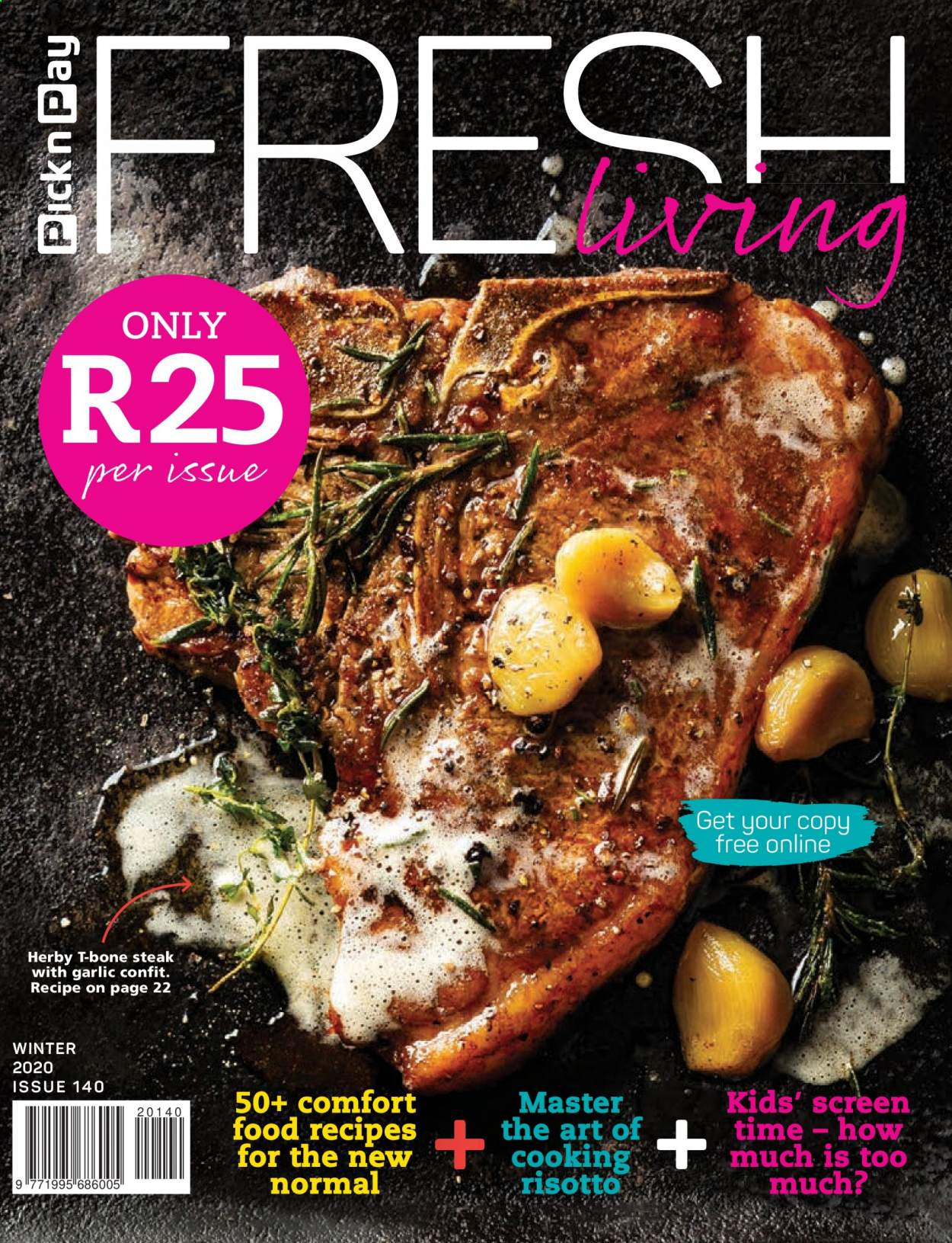 Pick n Pay catalogue . Page 1.