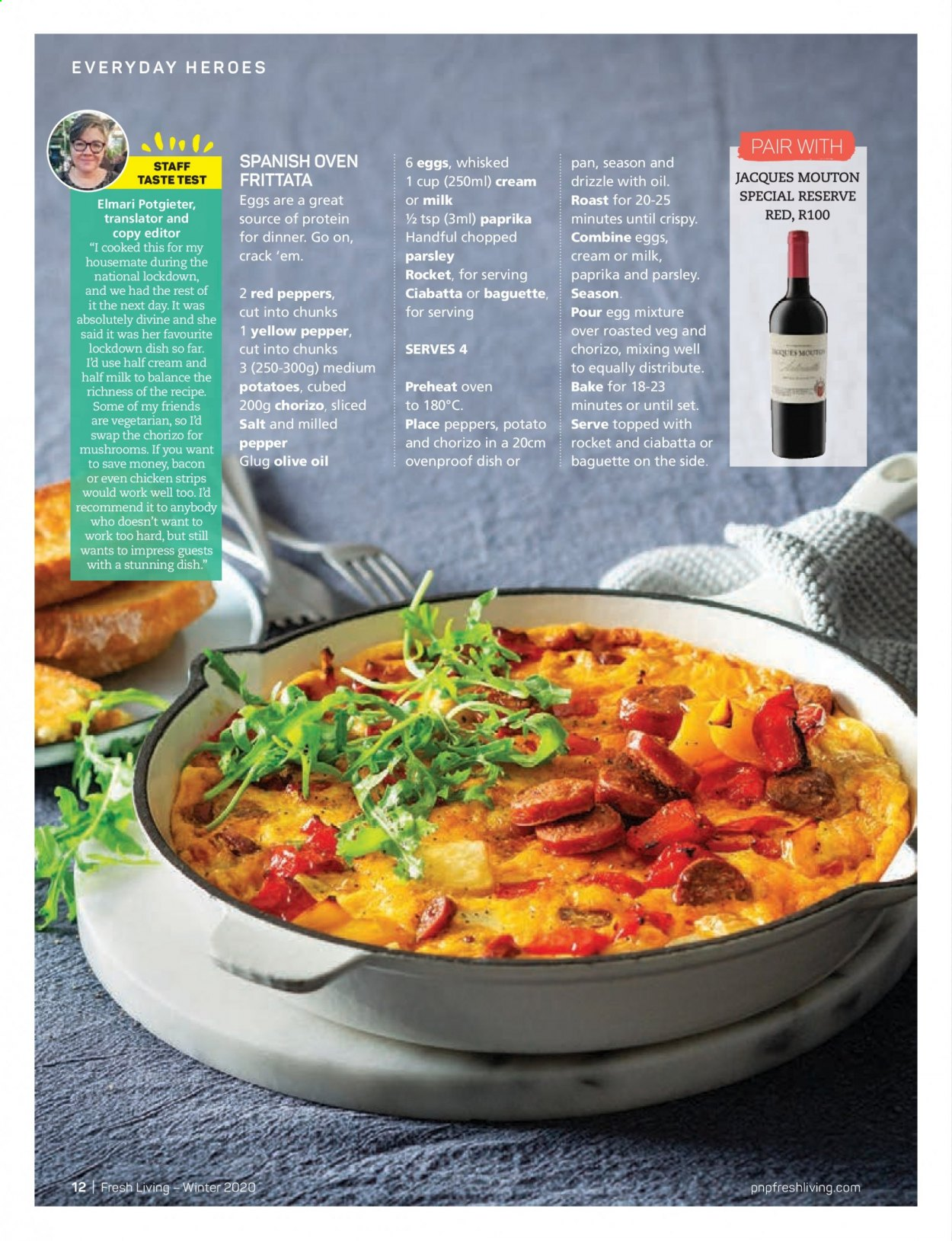 Pick n Pay catalogue . Page 12.