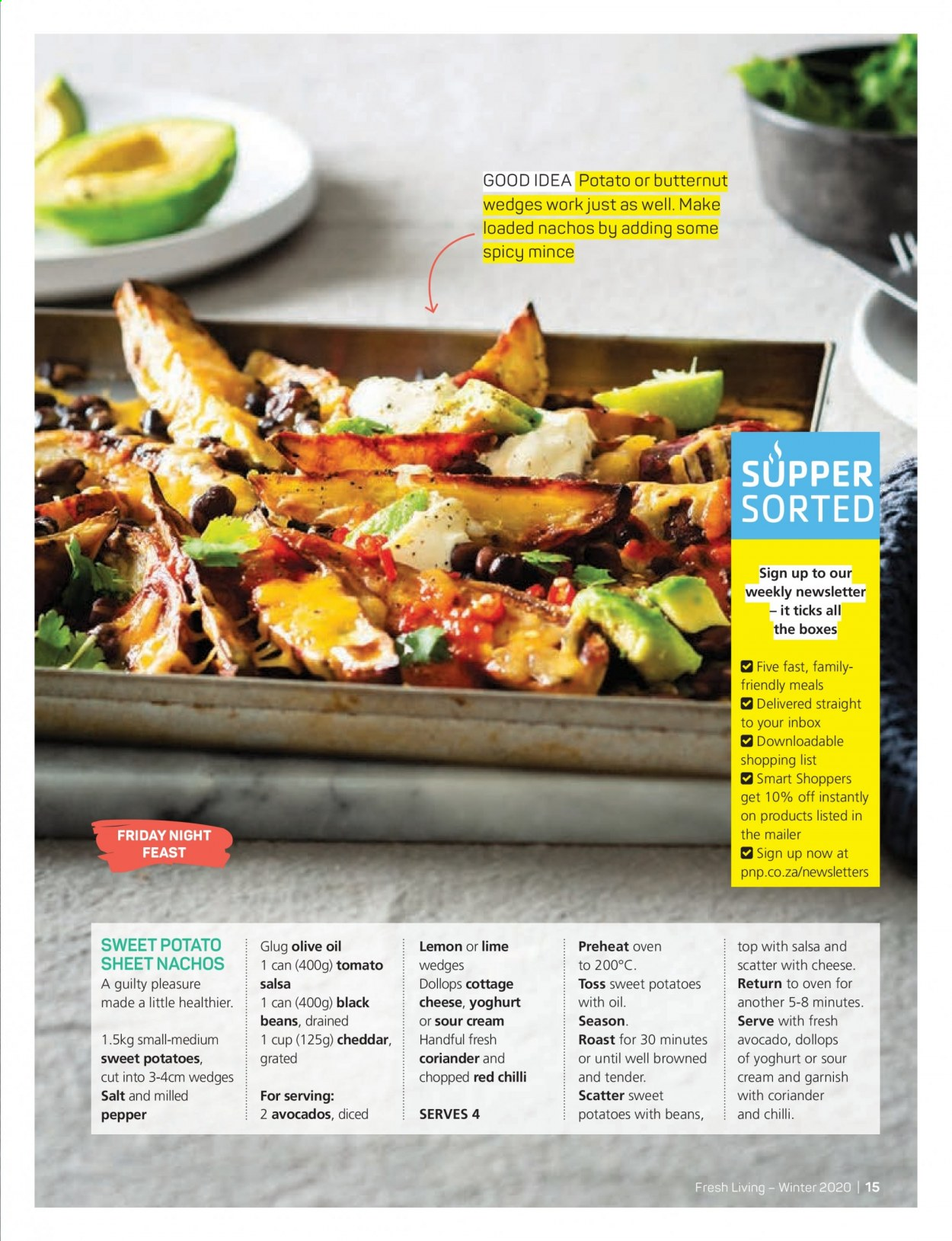 Pick n Pay catalogue . Page 15.