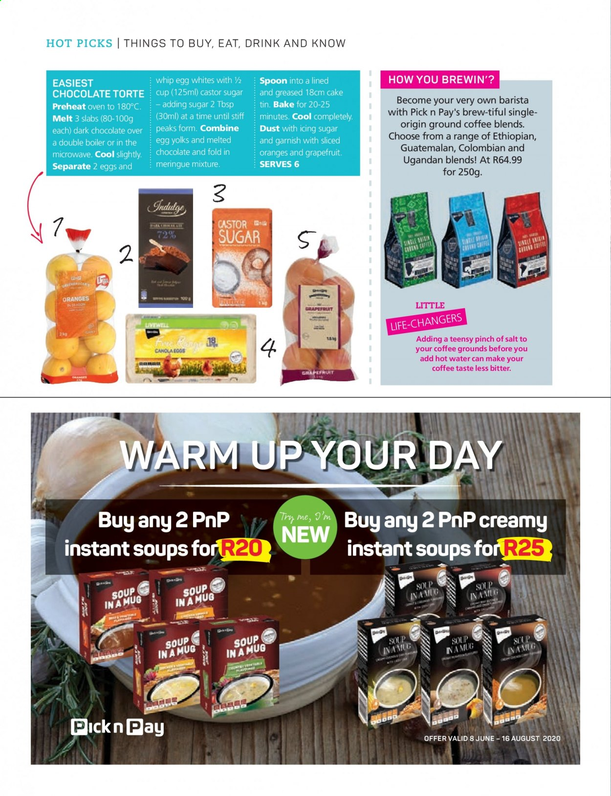 Pick n Pay catalogue . Page 18.