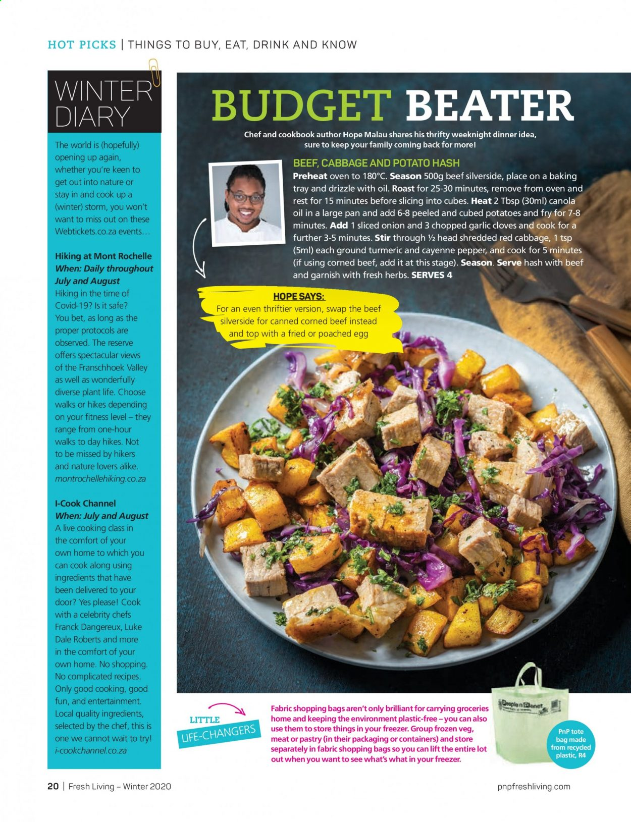 Pick n Pay catalogue . Page 20.