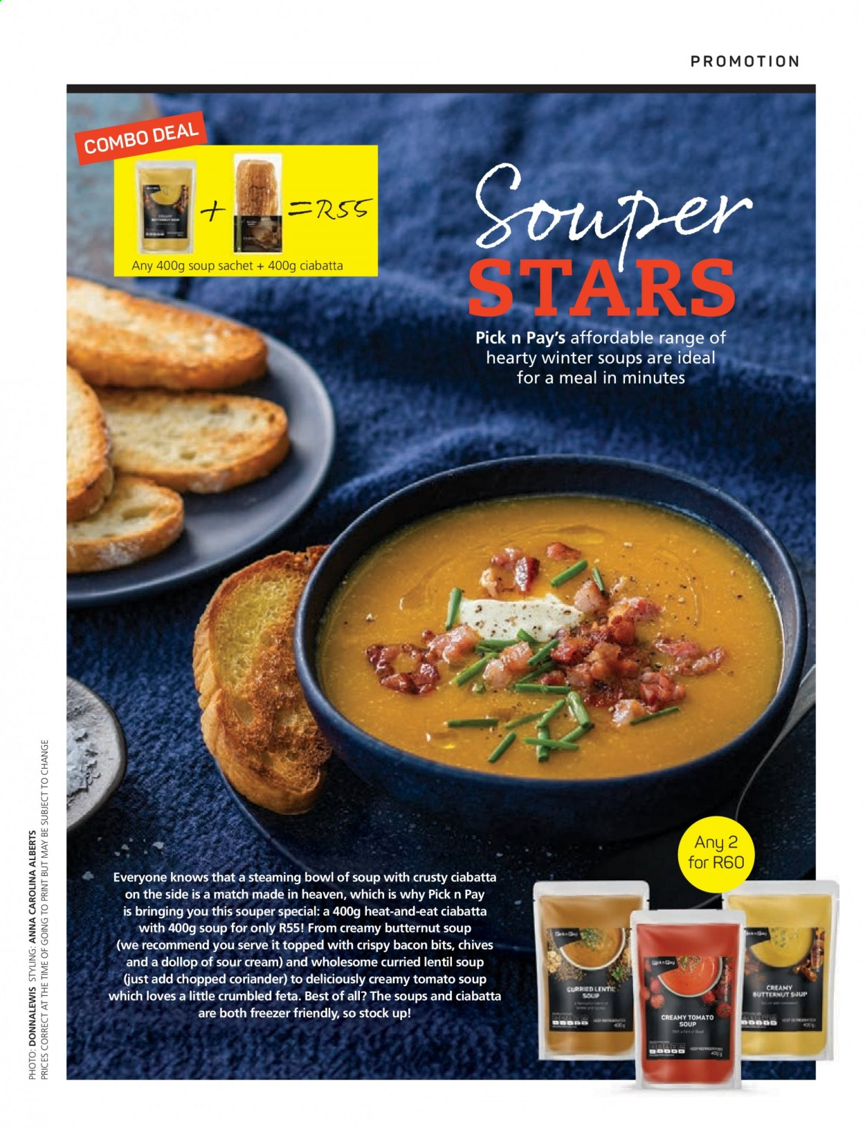 Pick n Pay catalogue . Page 23.