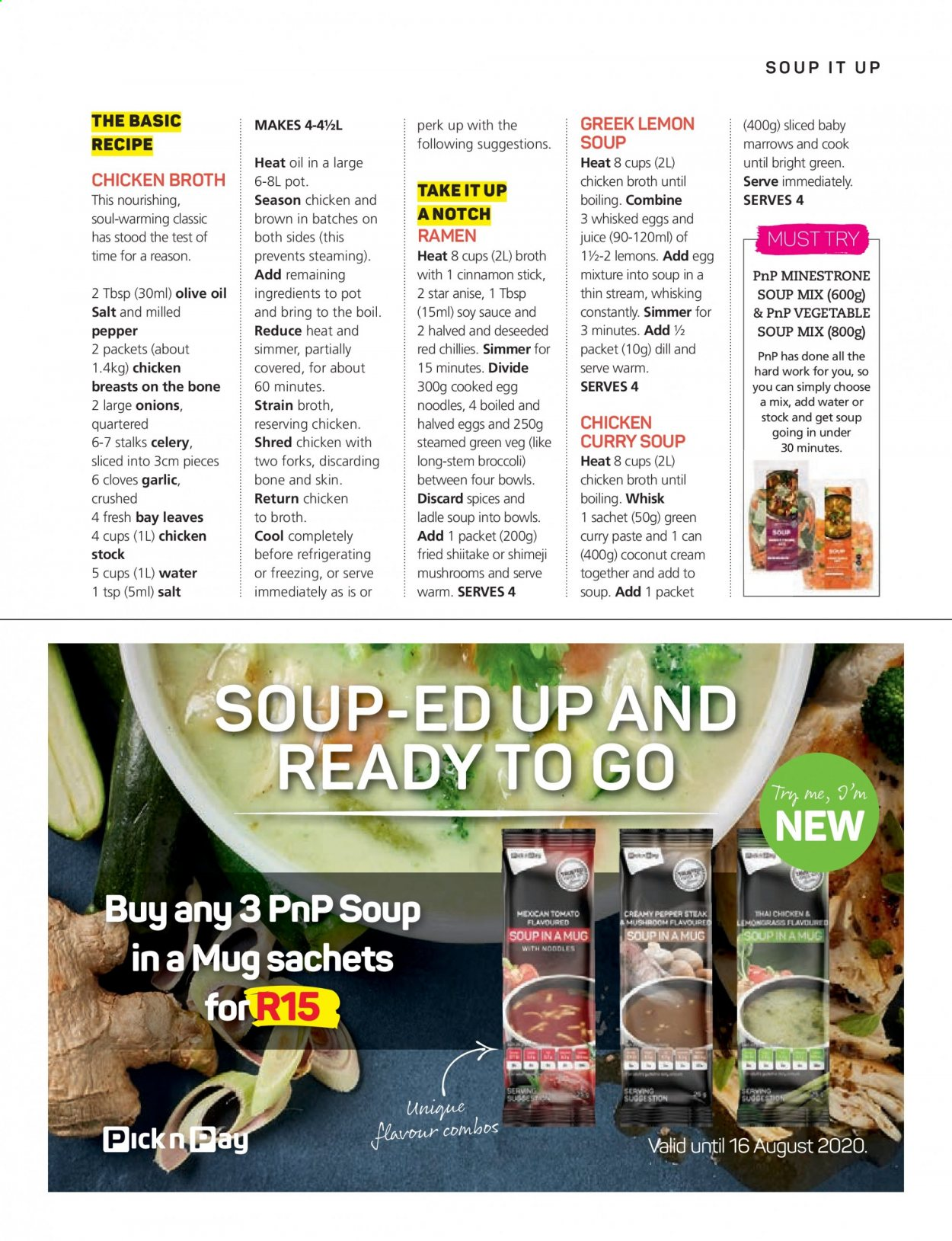 Pick n Pay catalogue . Page 31.