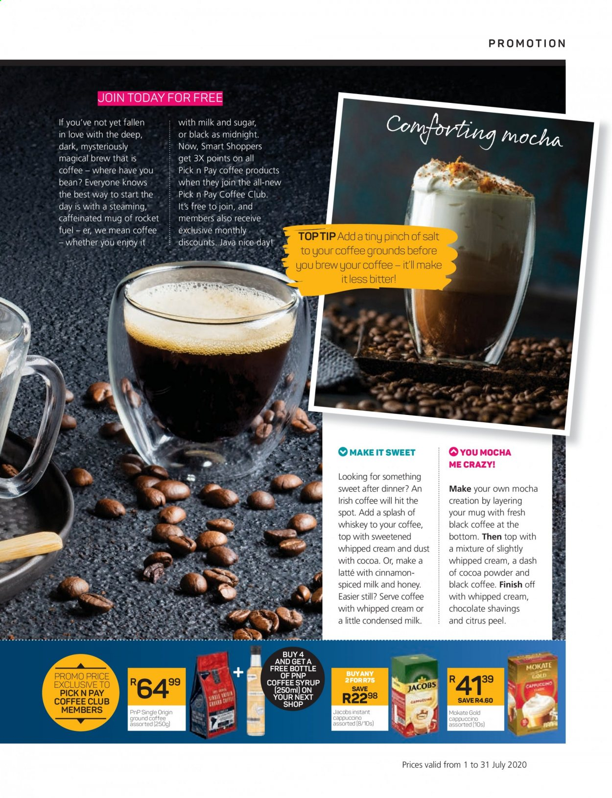 Pick n Pay catalogue . Page 45.